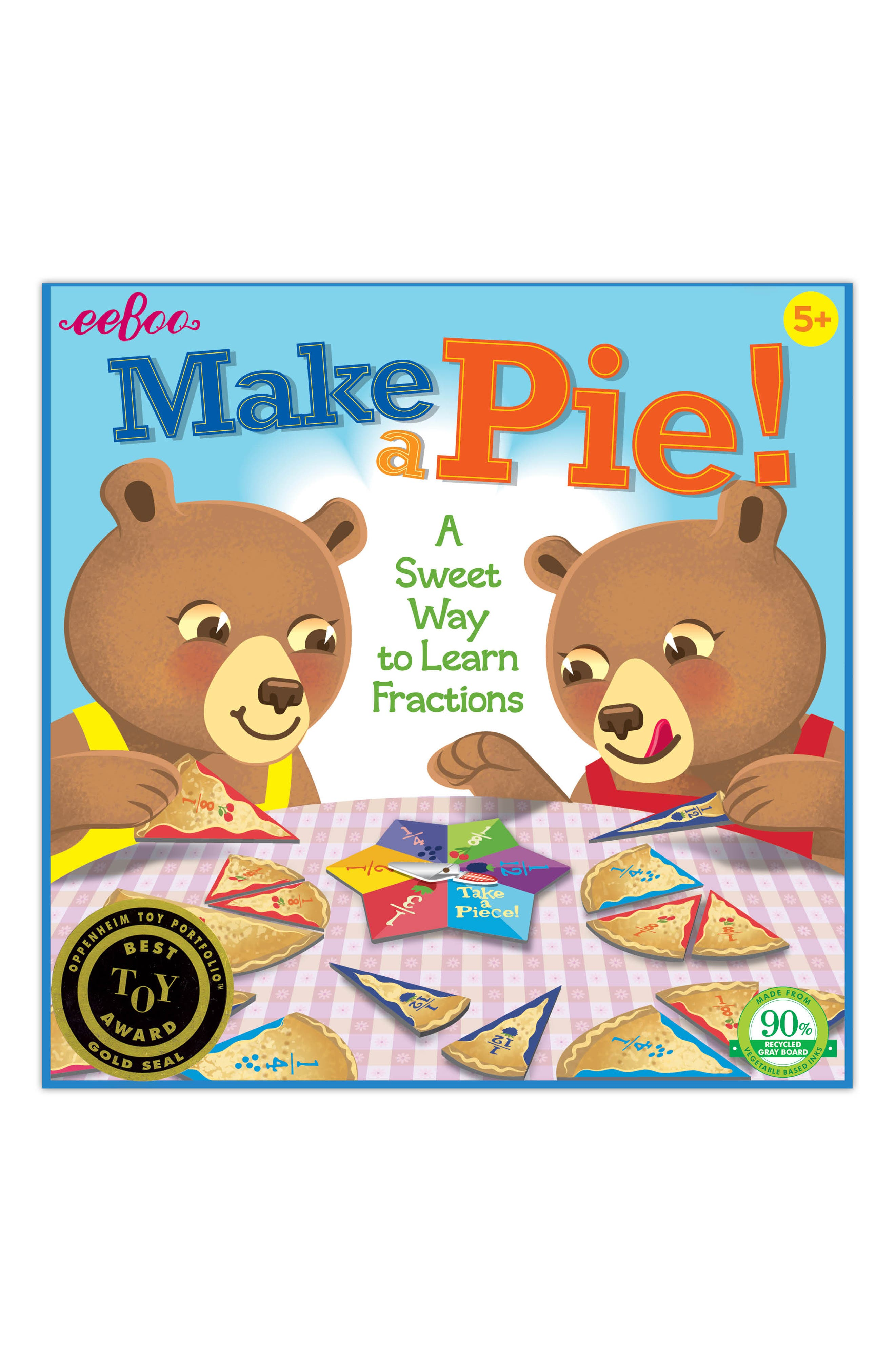 Make a Pie Game,                             Main thumbnail 1, color,                             BLUE