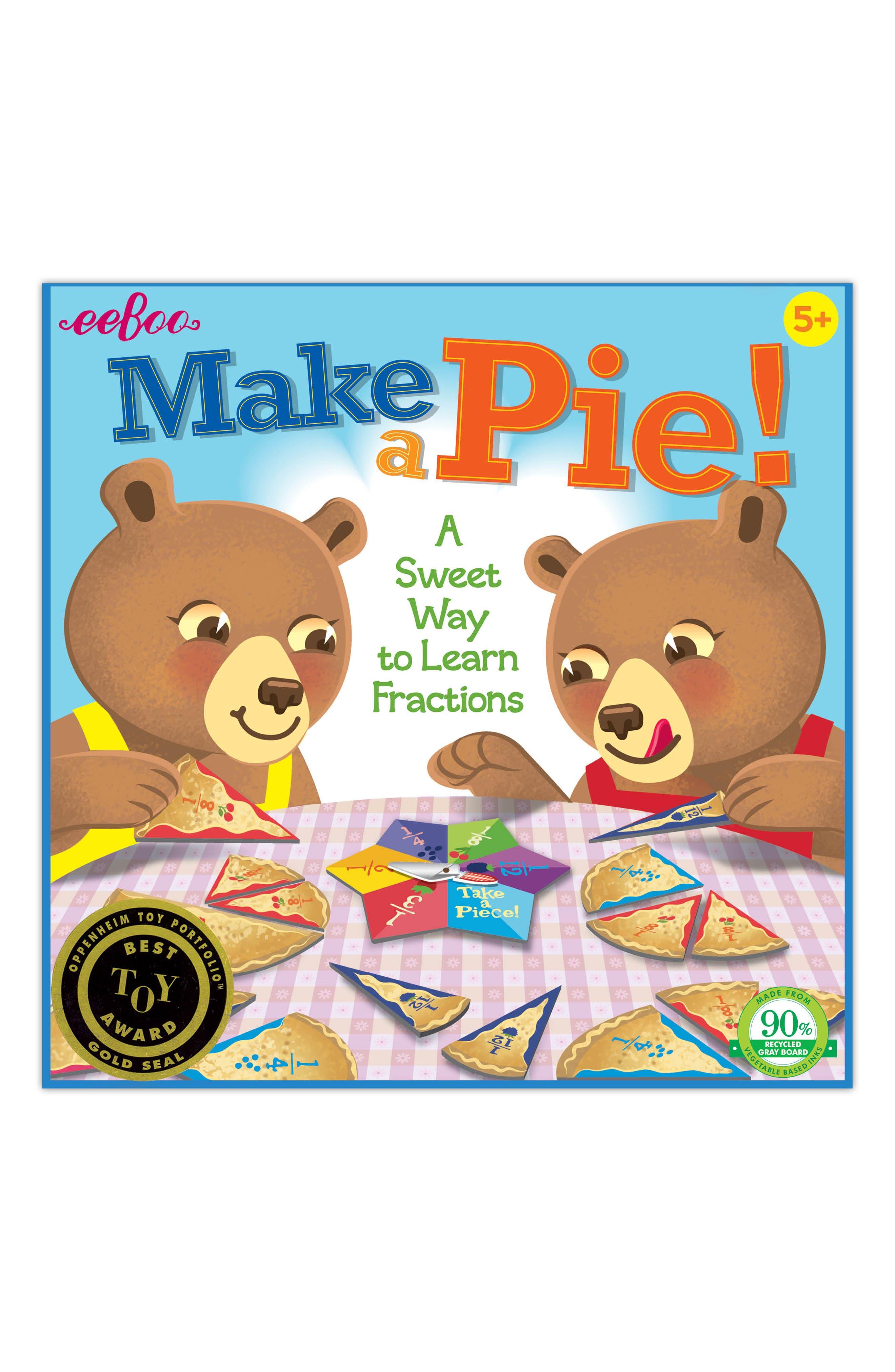 Make a Pie Game,                         Main,                         color, BLUE