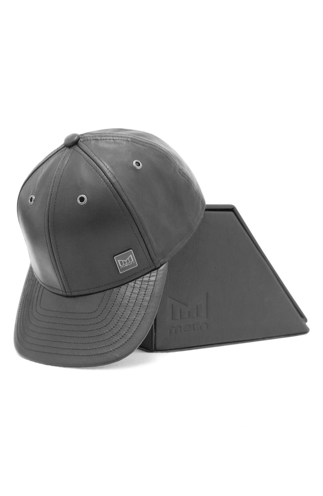MELIN,                             'The Voyage' Baseball Cap,                             Alternate thumbnail 2, color,                             BLACK/ BLACK