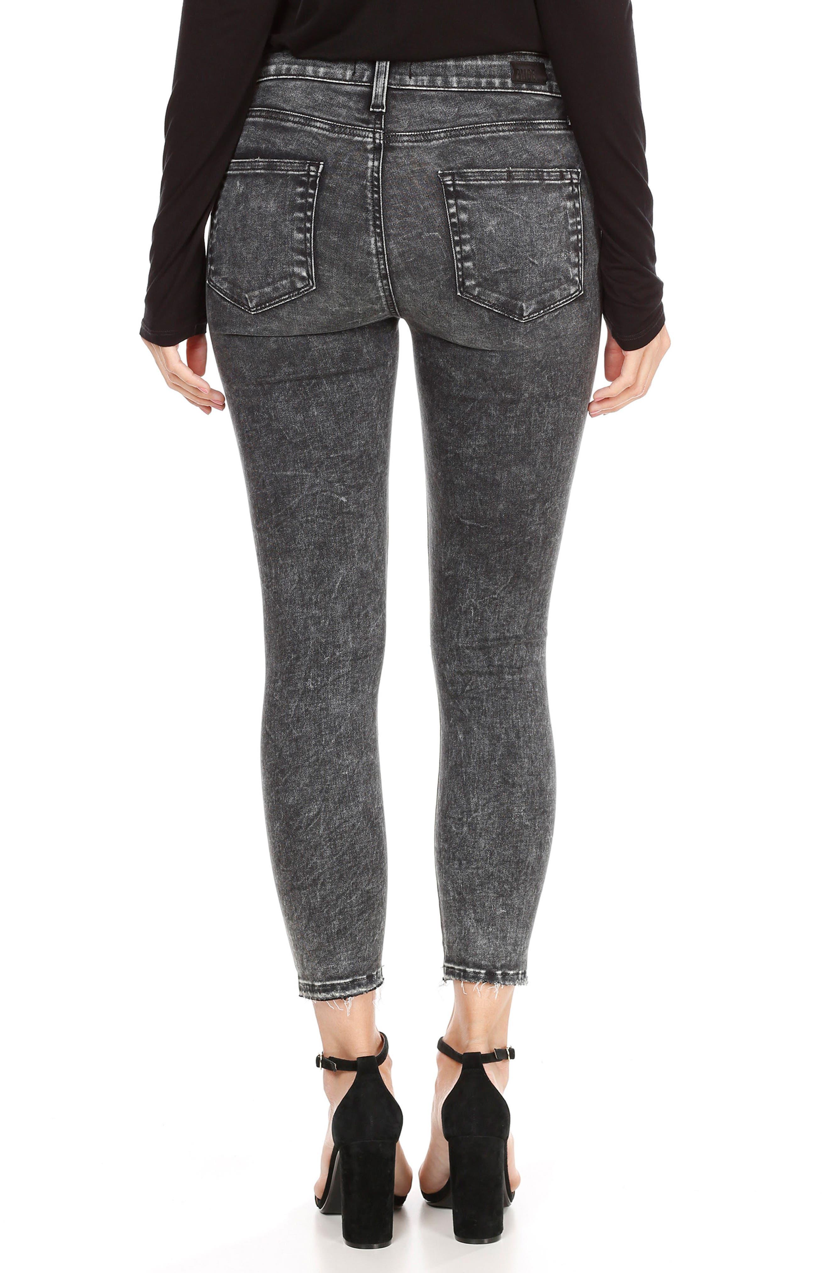 Hoxton High Waist Crop Skinny Jeans,                             Alternate thumbnail 2, color,                             021