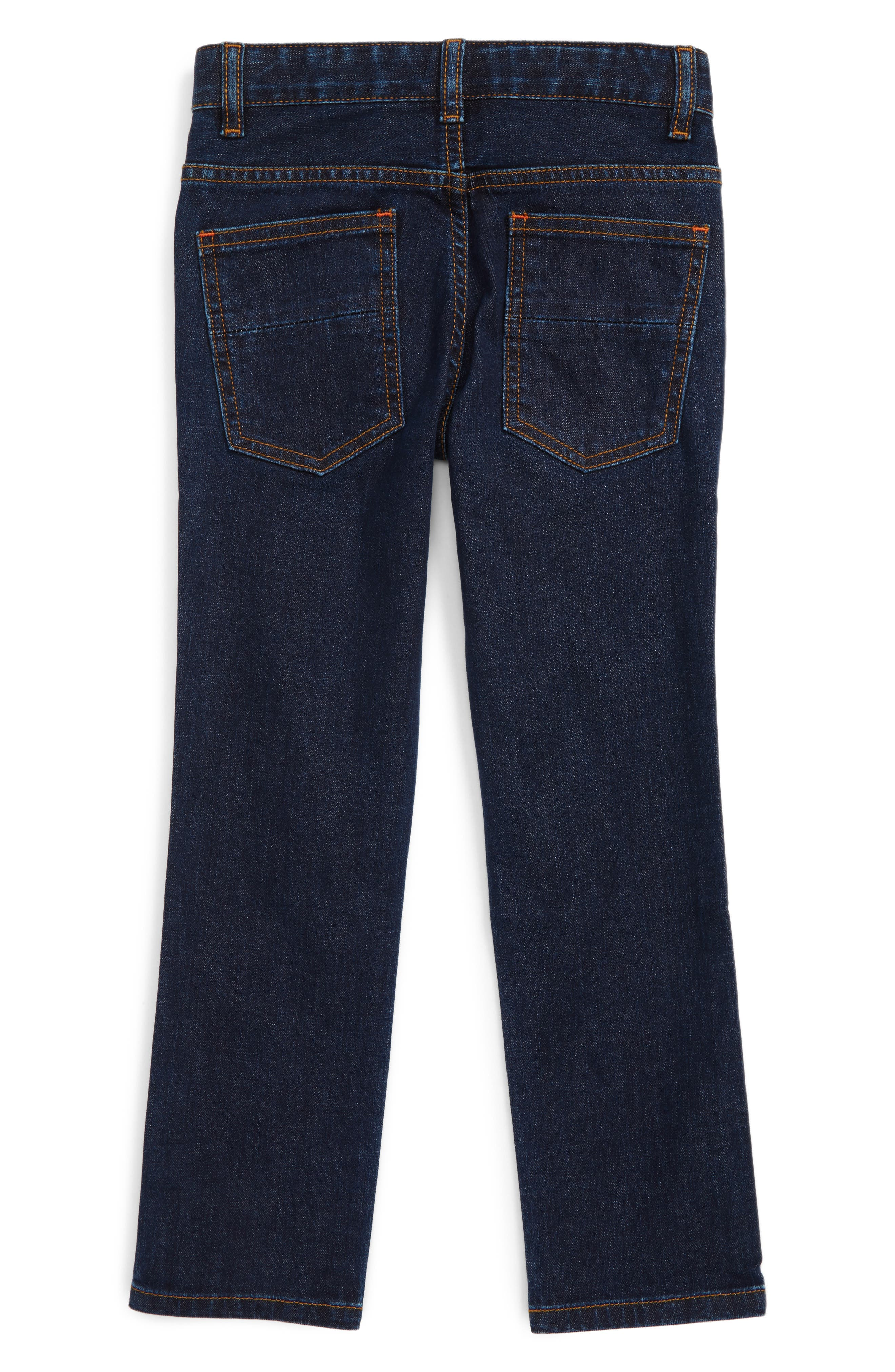 Slim Straight Leg Jeans,                             Alternate thumbnail 2, color,                             404