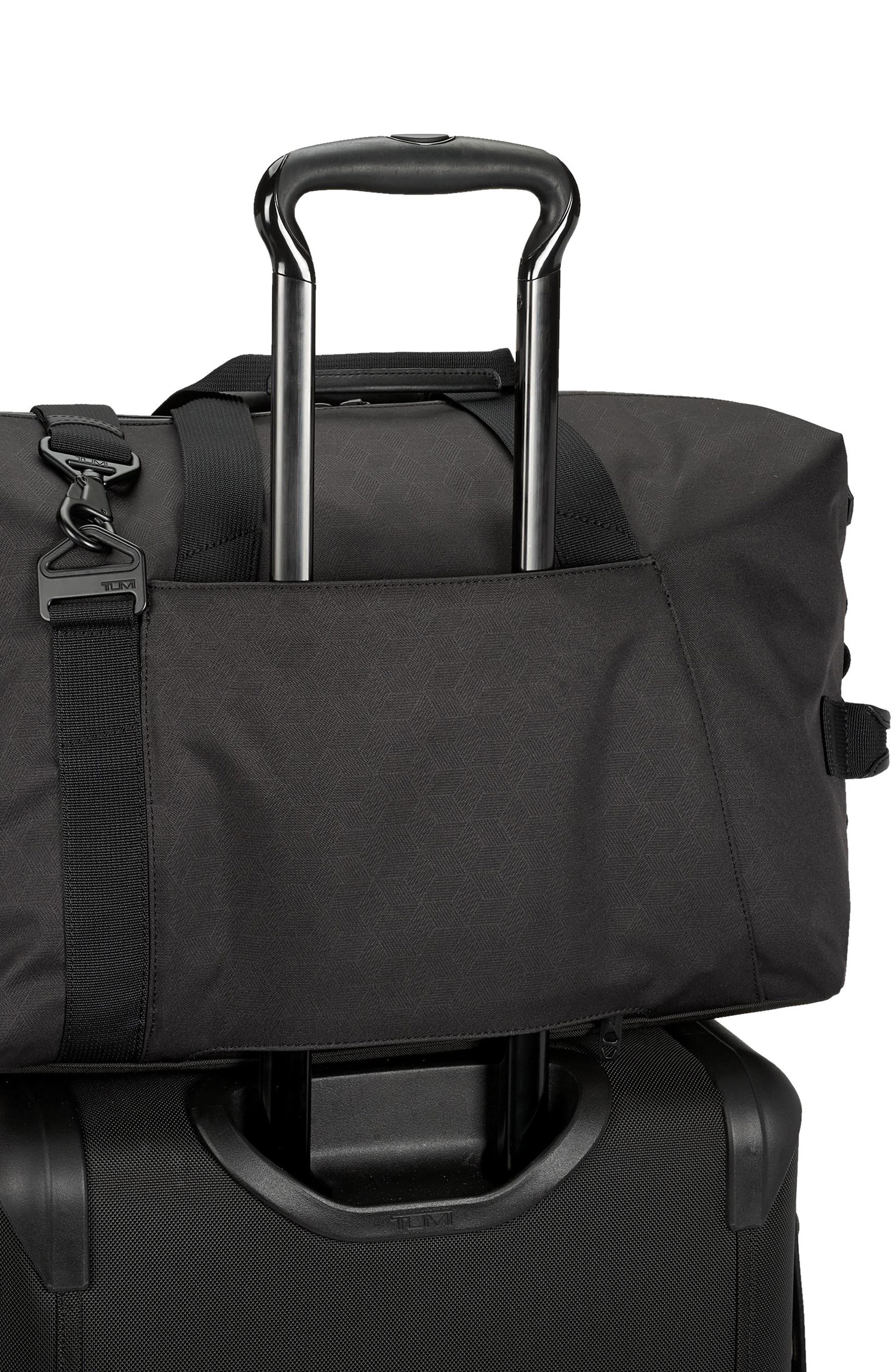 Sonoma Duffel Bag,                             Alternate thumbnail 5, color,                             BLACK