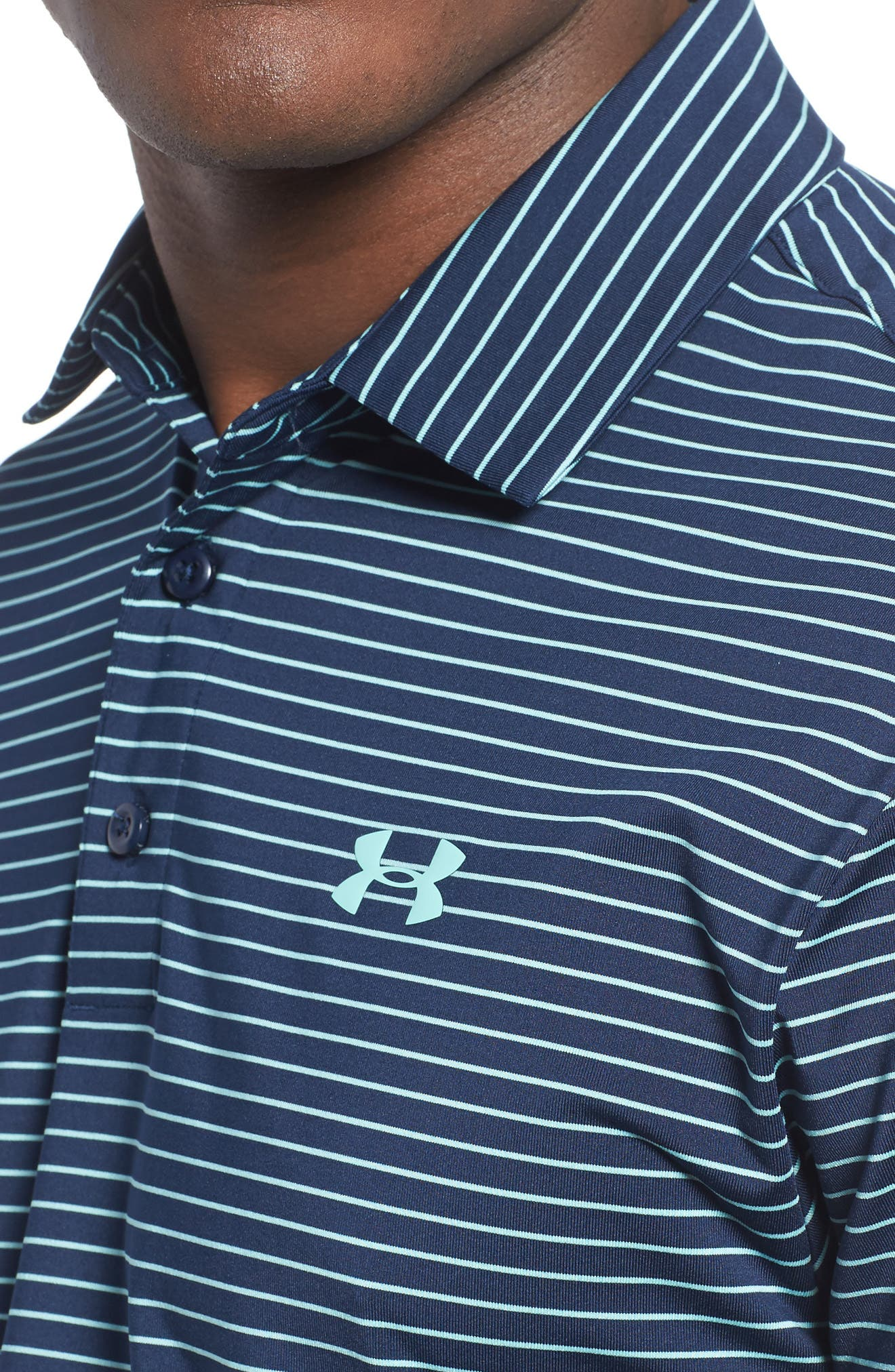 'Playoff' Loose Fit Short Sleeve Polo,                             Alternate thumbnail 208, color,