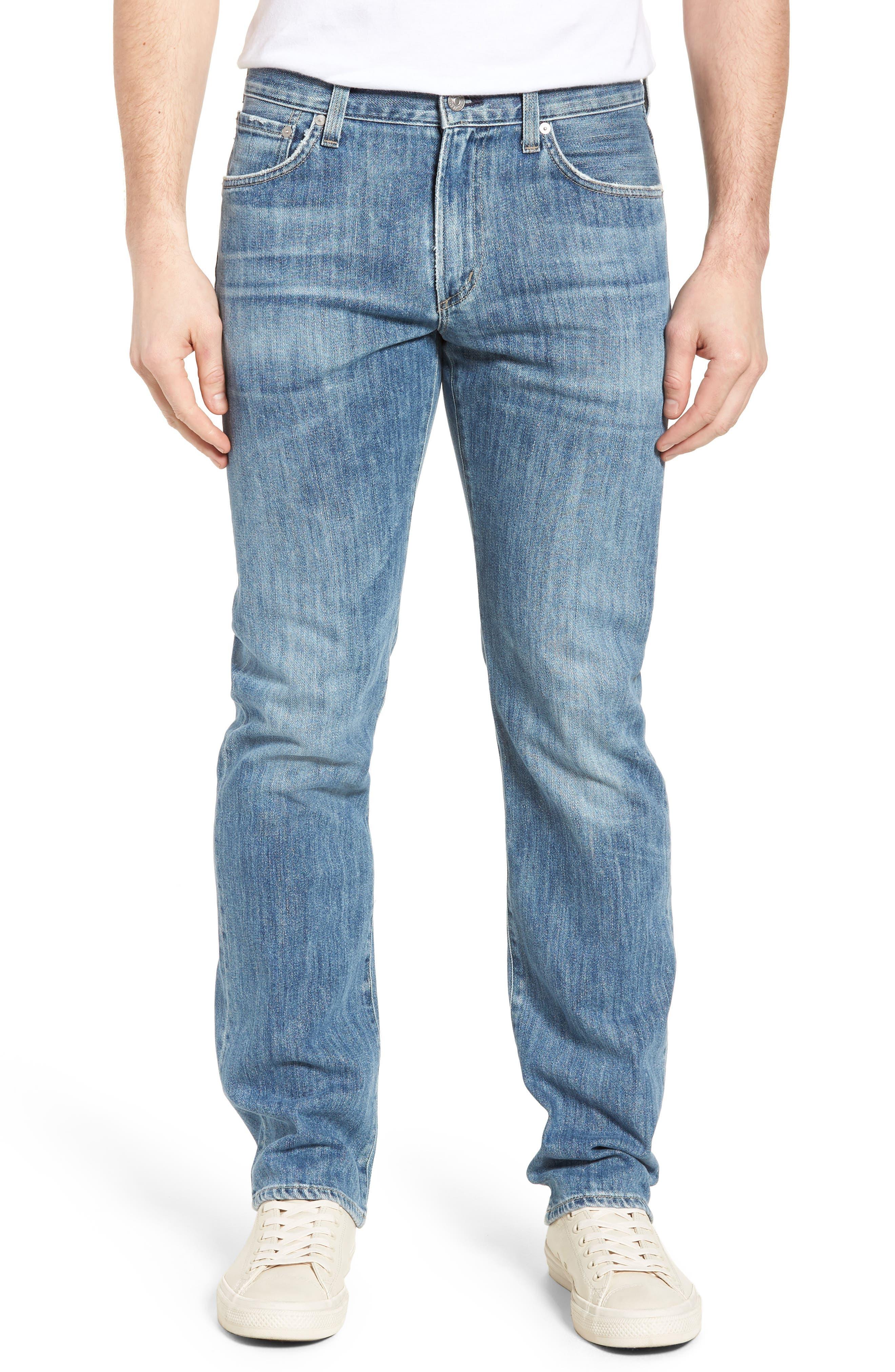 Sid Straight Leg Jeans,                             Main thumbnail 1, color,                             456