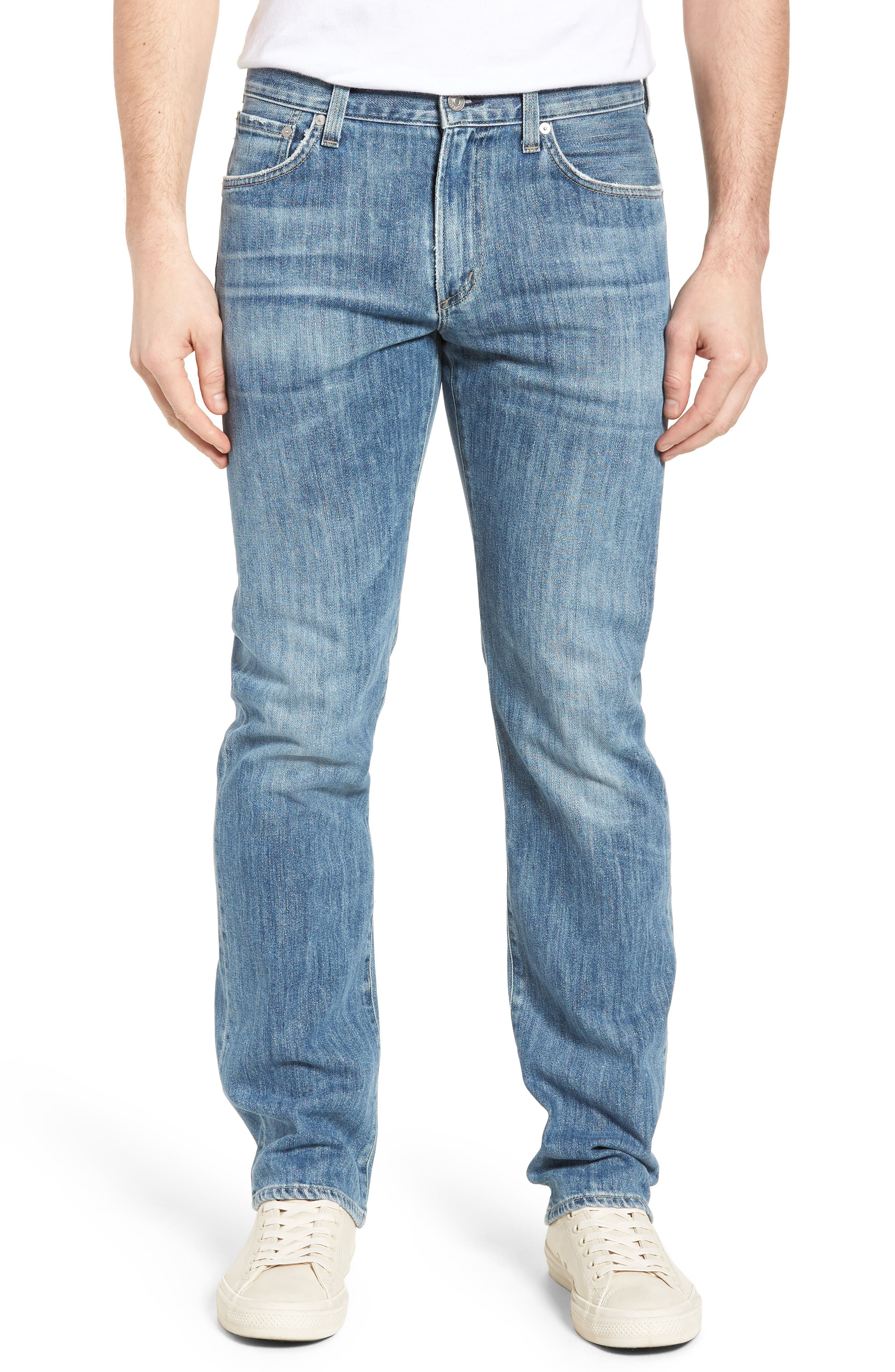 CITIZENS OF HUMANITY Sid Straight Leg Jeans, Main, color, 456
