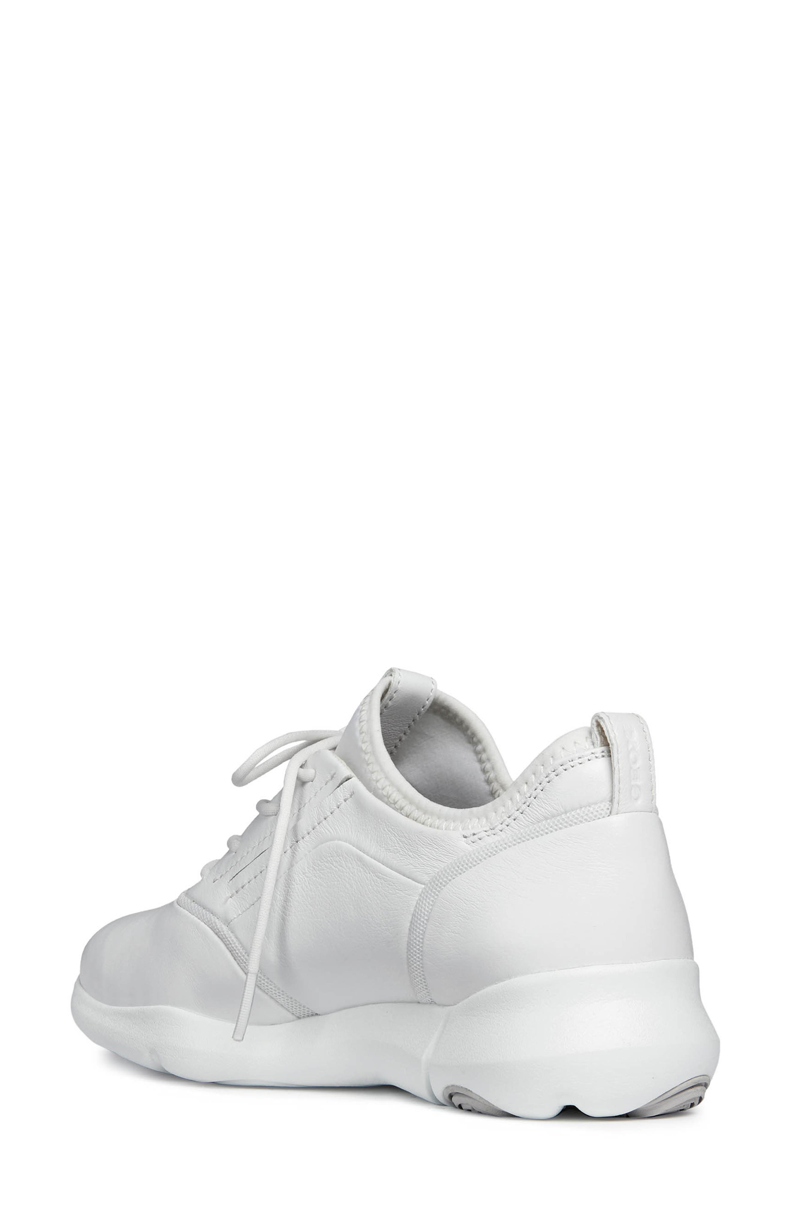 Nebula S 2 Low Top Sneaker,                             Alternate thumbnail 2, color,                             WHITE LEATHER