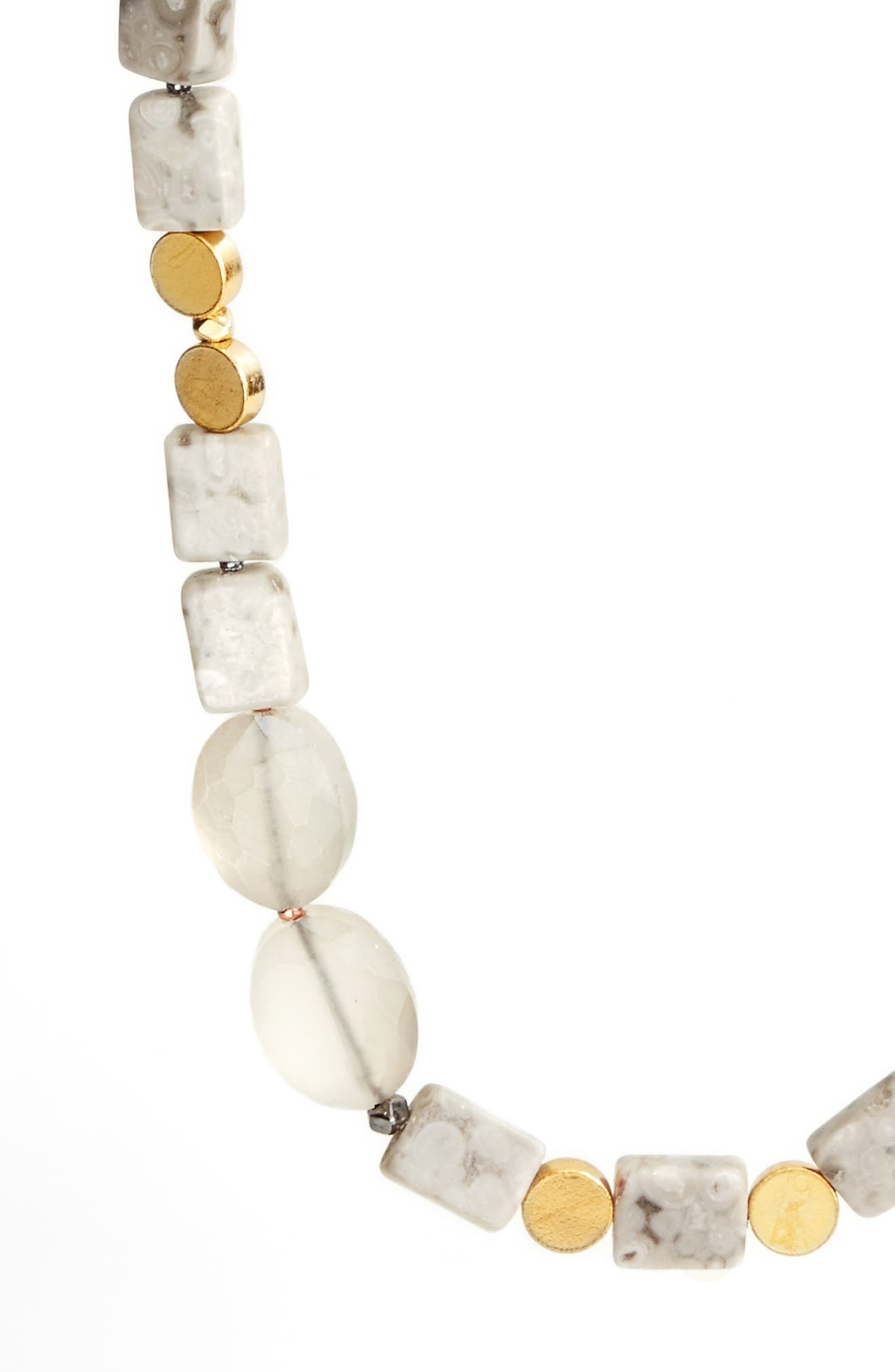 Long Agate Necklace,                             Alternate thumbnail 2, color,                             020