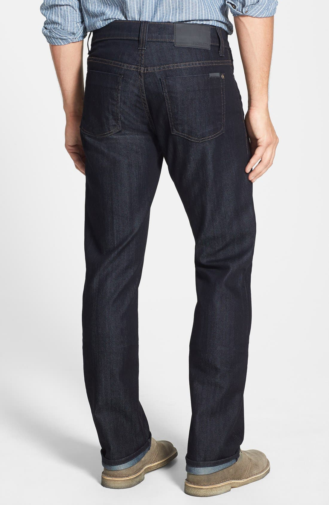 50-11 Relaxed Fit Jeans,                             Alternate thumbnail 3, color,                             REVOLUTION RINSE