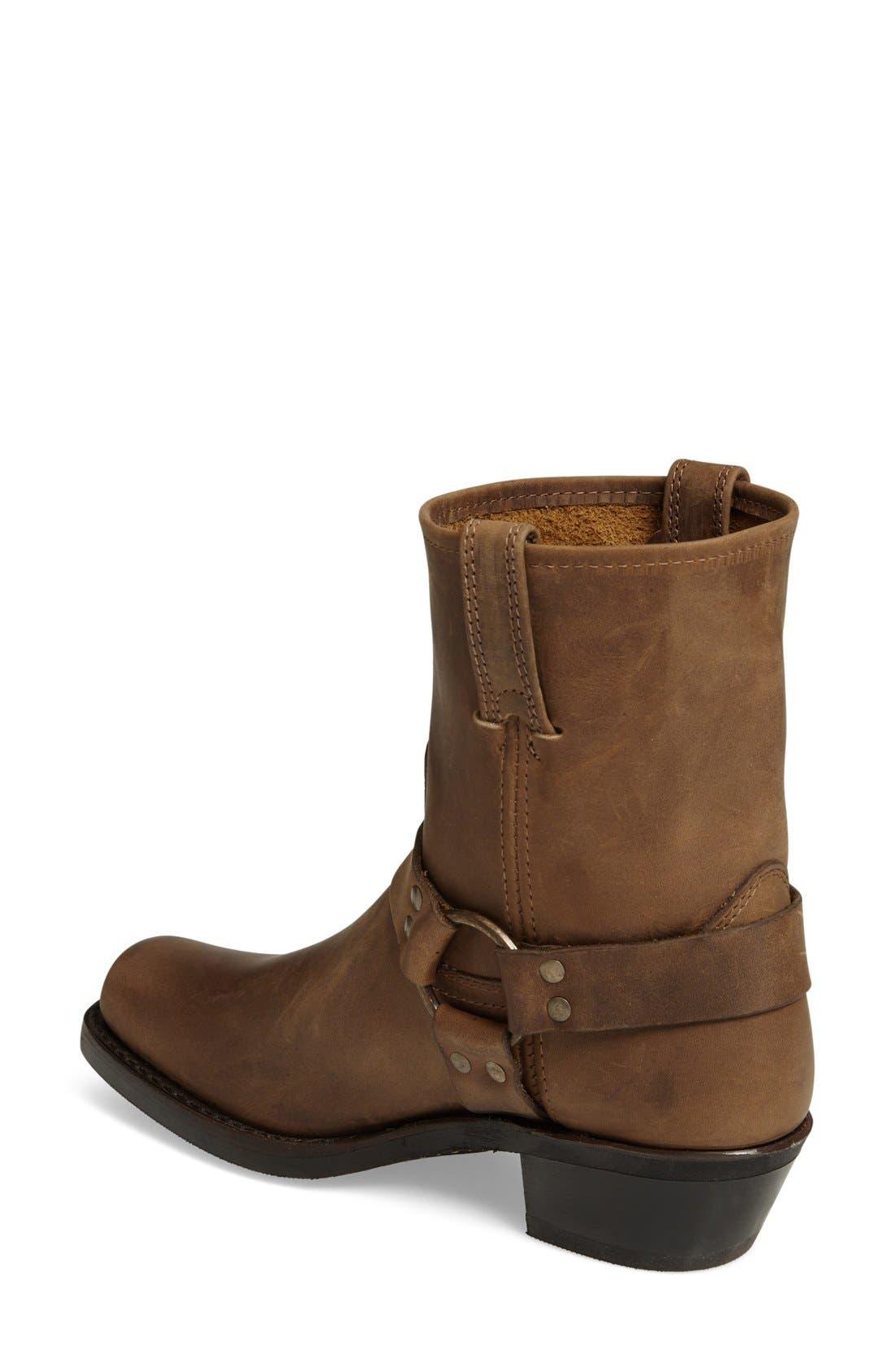 Harness Square Toe Engineer Boot,                             Alternate thumbnail 2, color,                             TAN