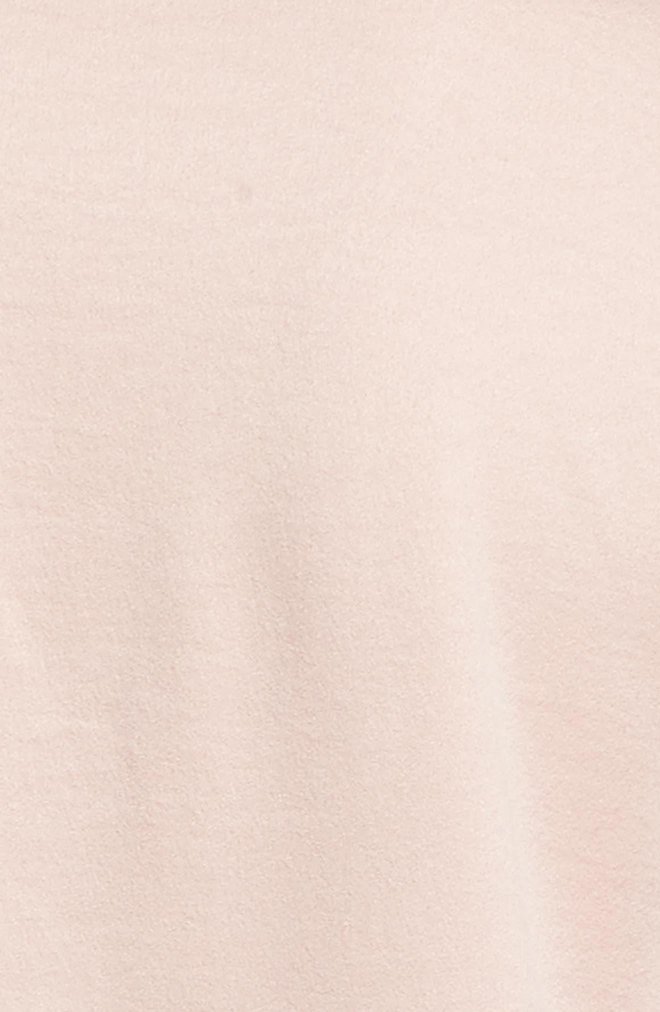 Ruffle Sleeve Satin Blouse,                             Alternate thumbnail 5, color,                             650