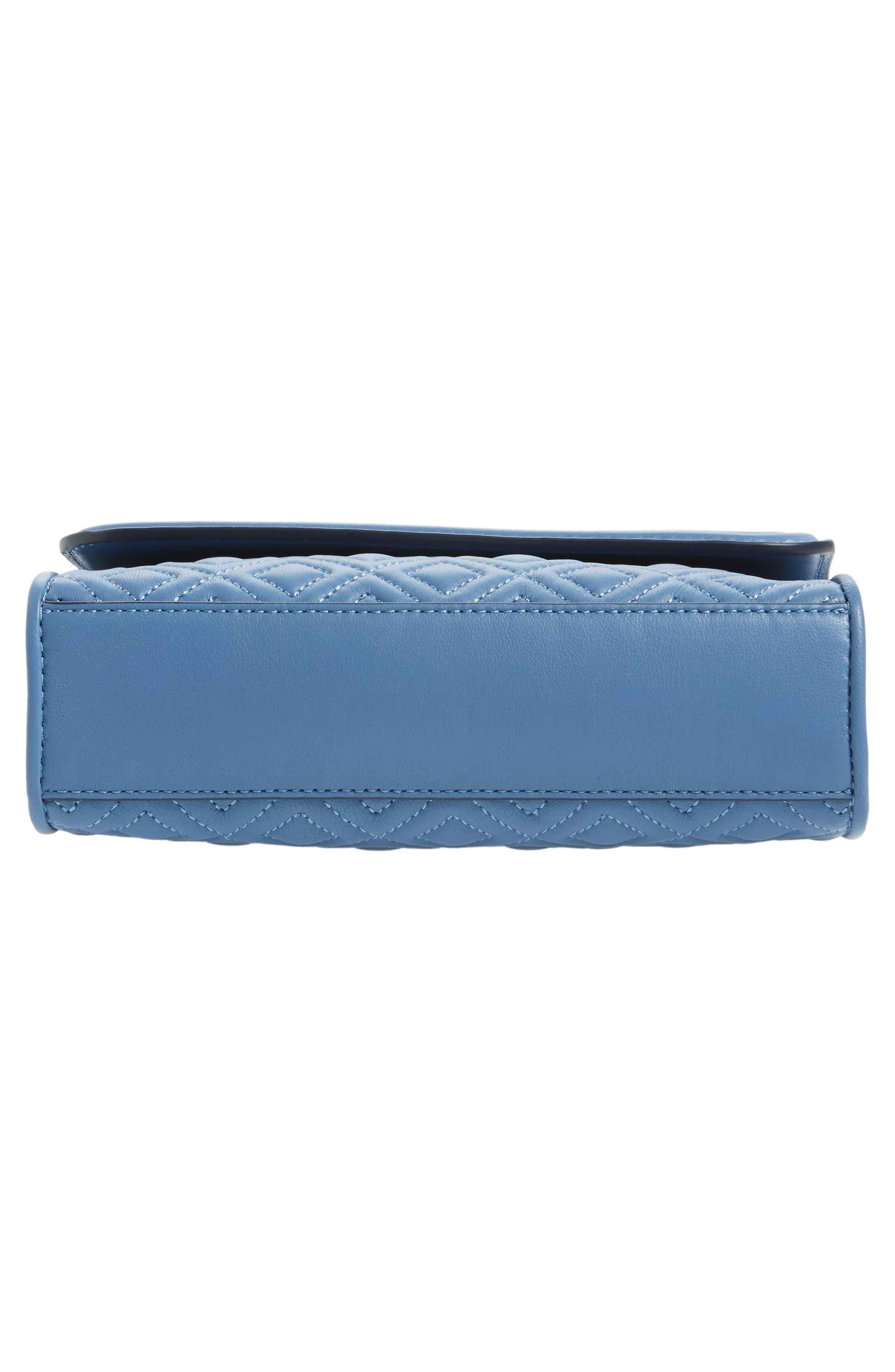 Fleming Convertible Leather Shoulder Bag,                             Alternate thumbnail 6, color,                             401