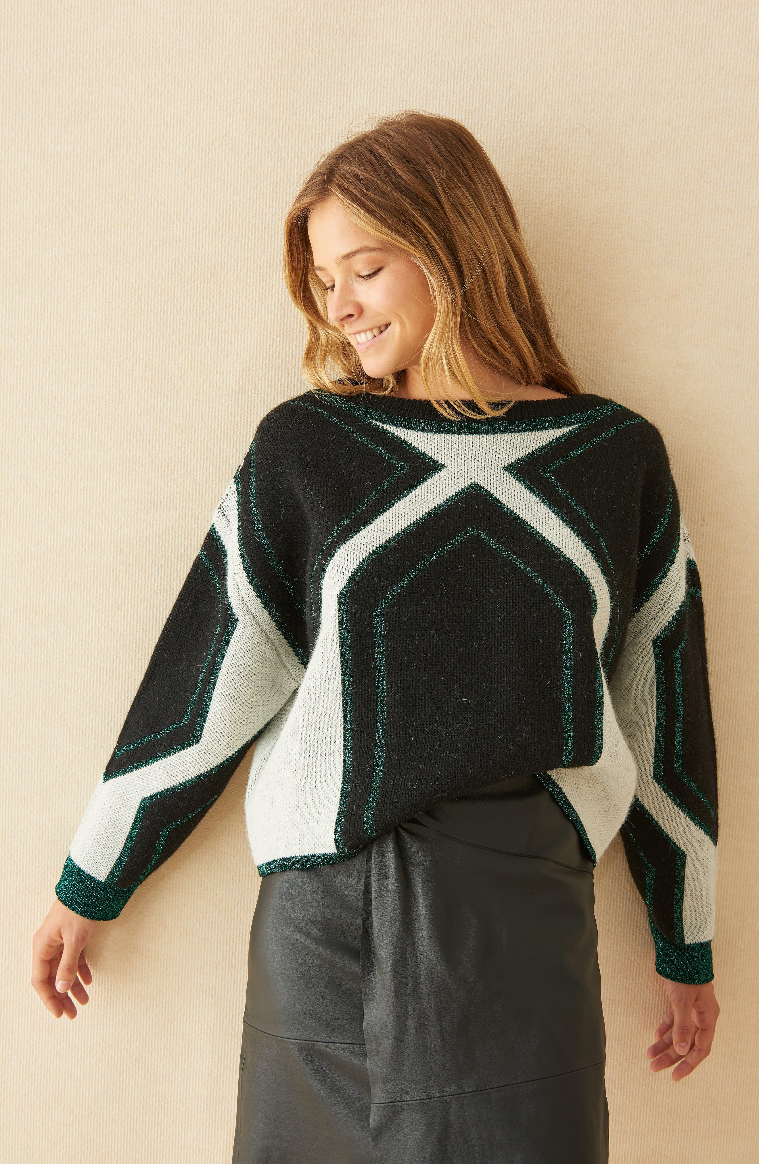 Velny Sweater,                             Alternate thumbnail 7, color,                             MULTI