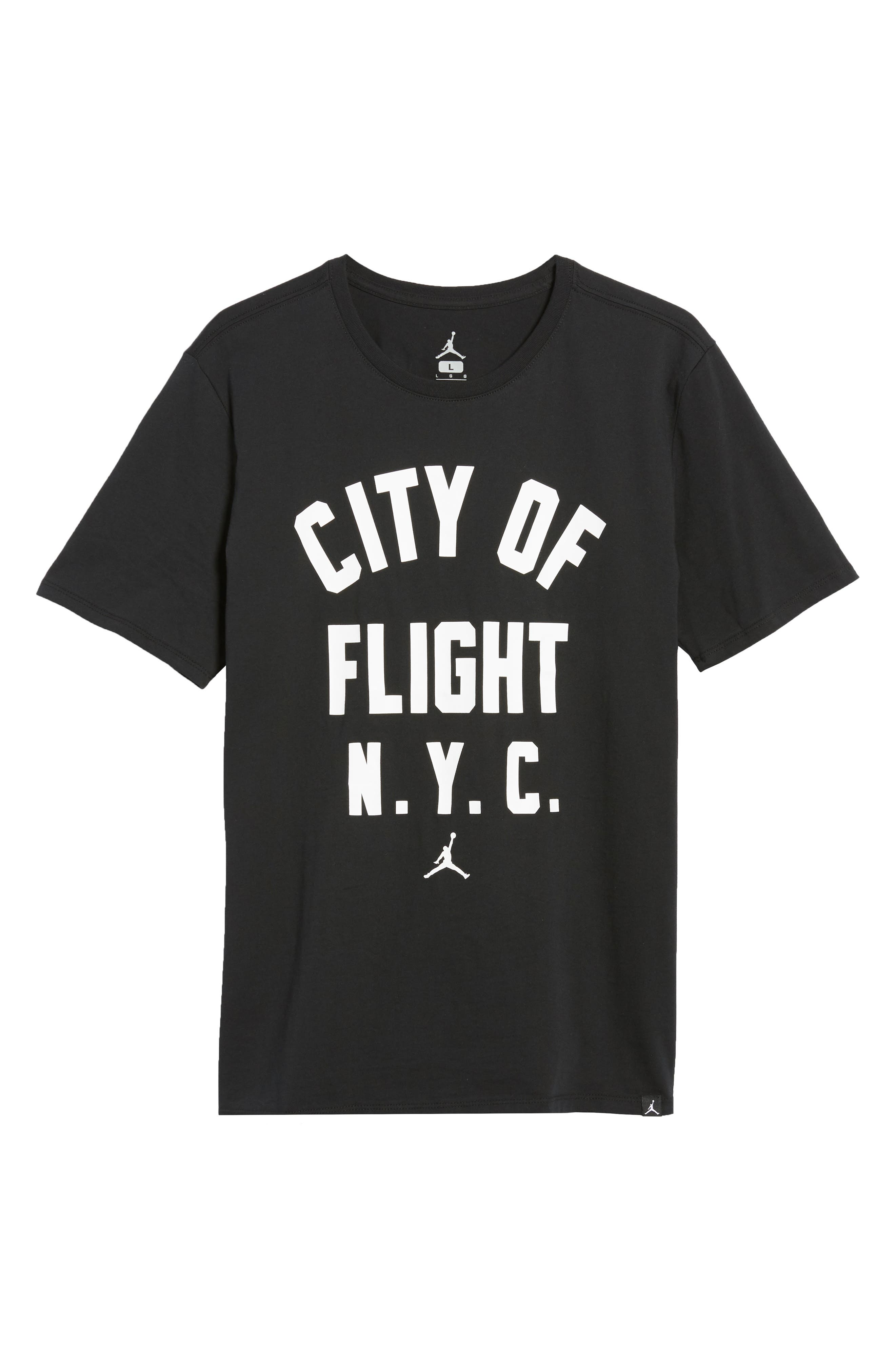 Sportswear City of Flight T-Shirt,                             Alternate thumbnail 6, color,                             011