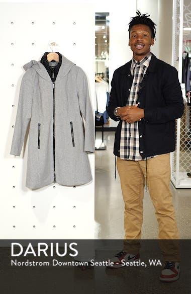 Hooded Twill Coat, sales video thumbnail