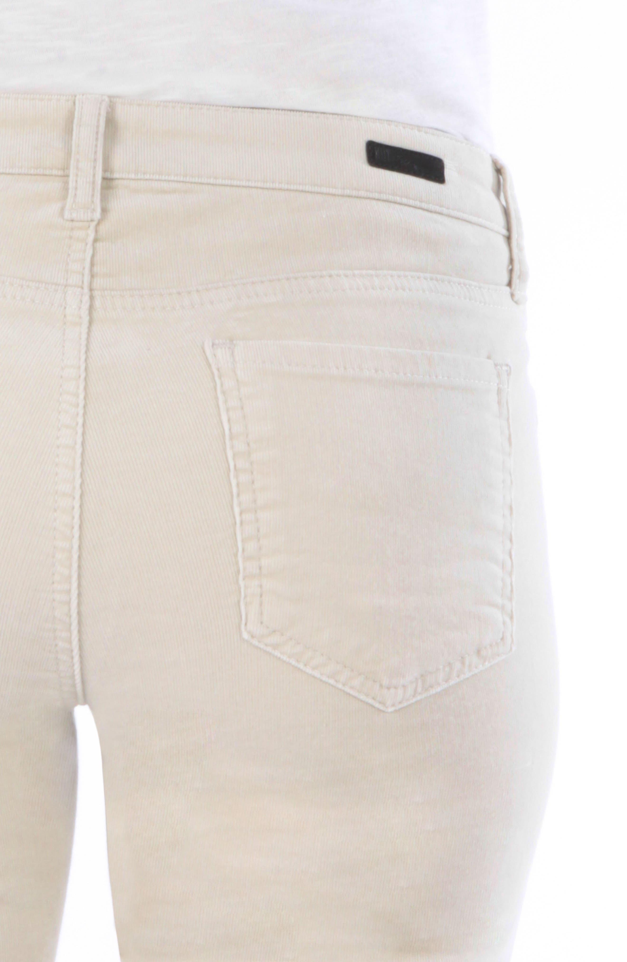 'Diana' Stretch Corduroy Skinny Pants,                             Alternate thumbnail 164, color,