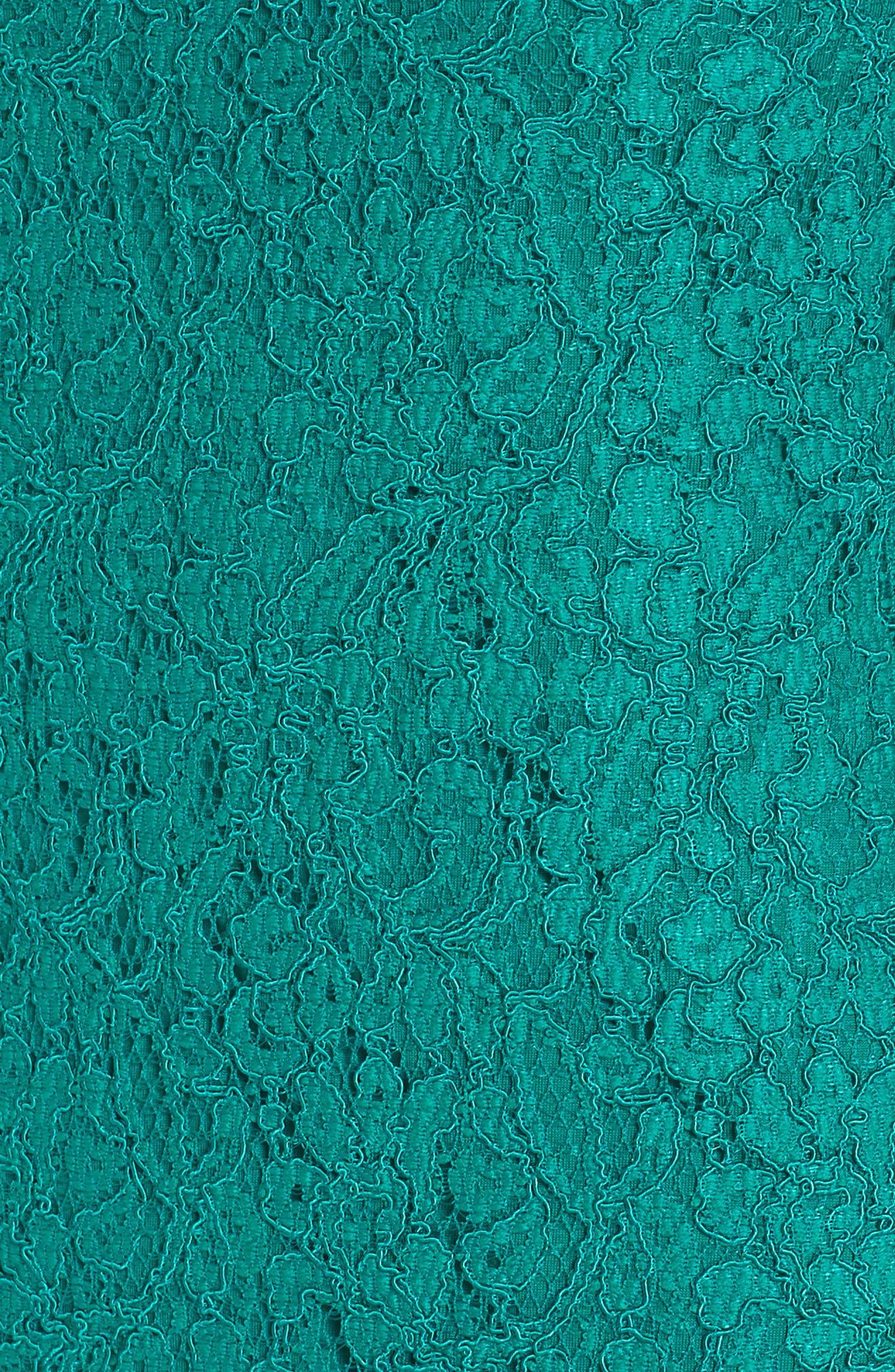 Boatneck Lace Sheath Dress,                             Alternate thumbnail 141, color,