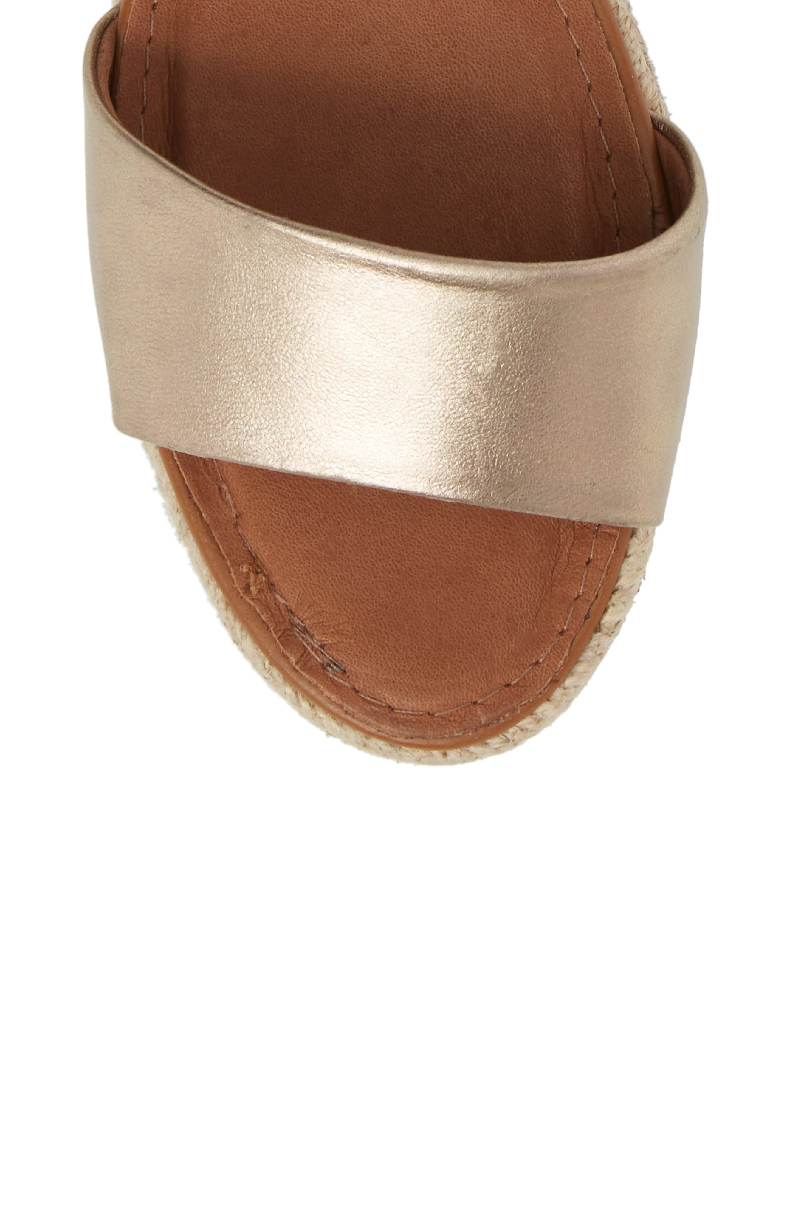 Erika Espadrille Sandal,                             Alternate thumbnail 5, color,                             042