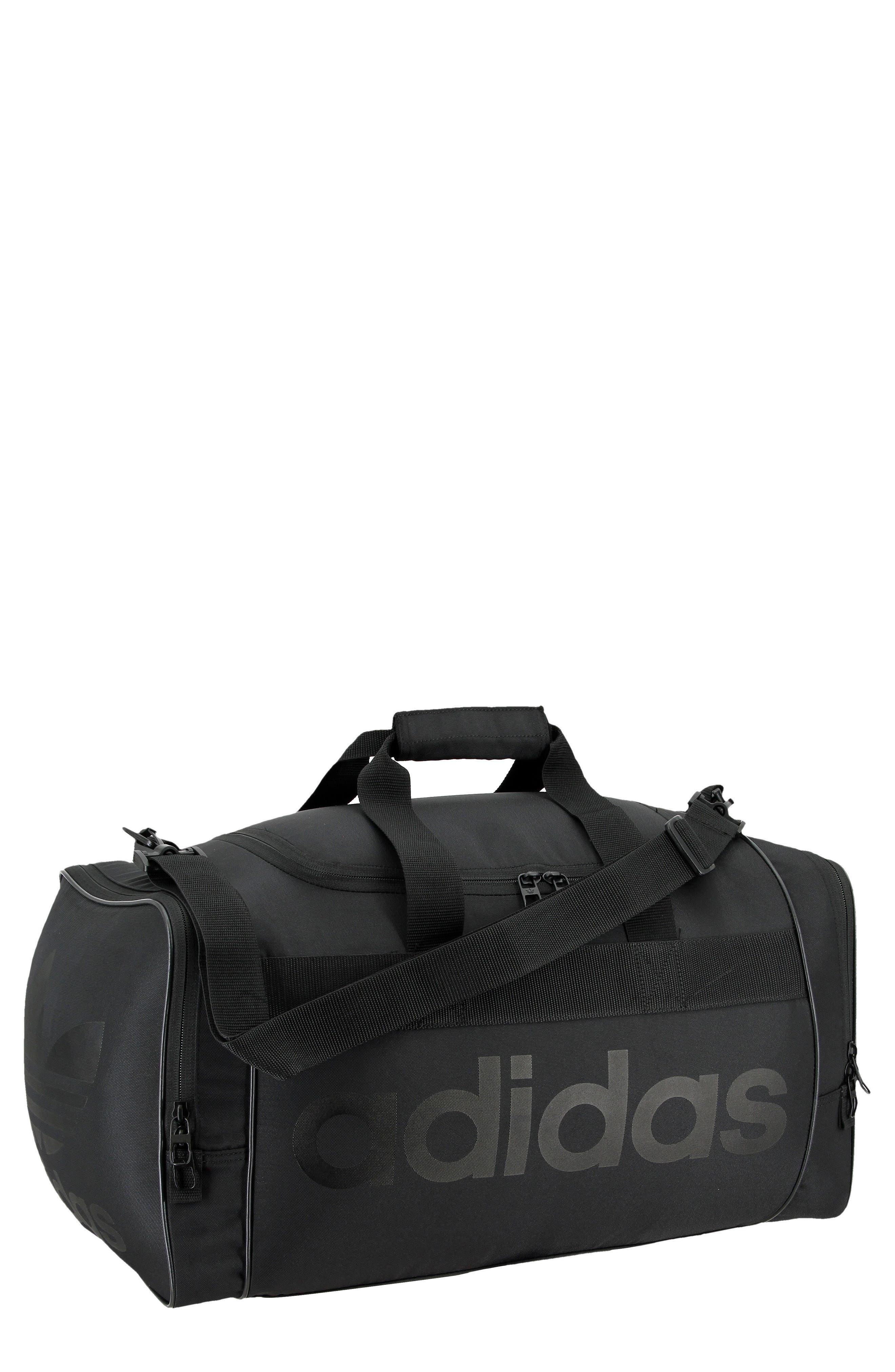 Santiago Duffel Bag,                         Main,                         color, BLACK/ BLACK