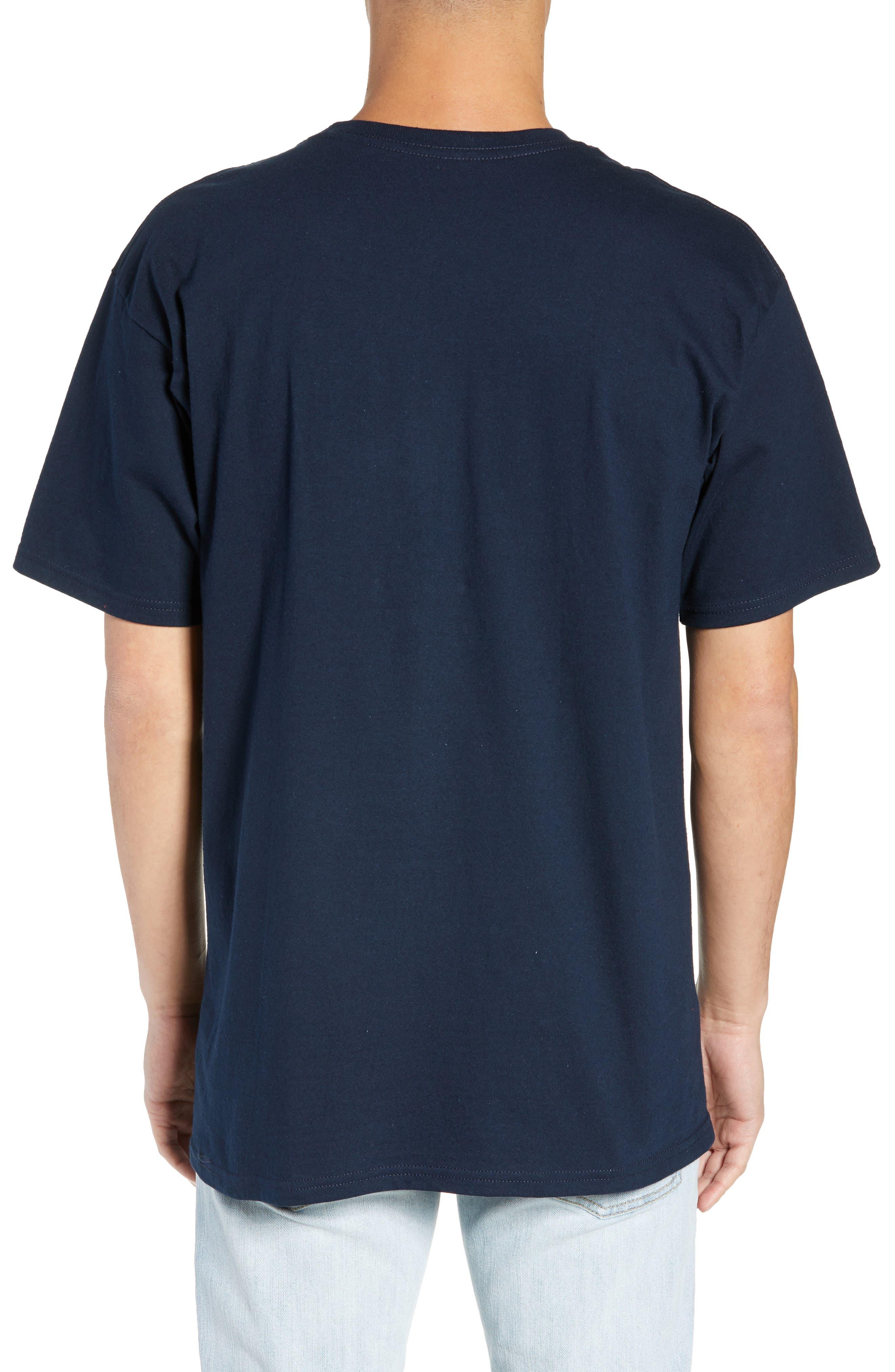 Micah Logo T-Shirt,                             Alternate thumbnail 2, color,                             NAVY/ WHITE/ CHINESE RED