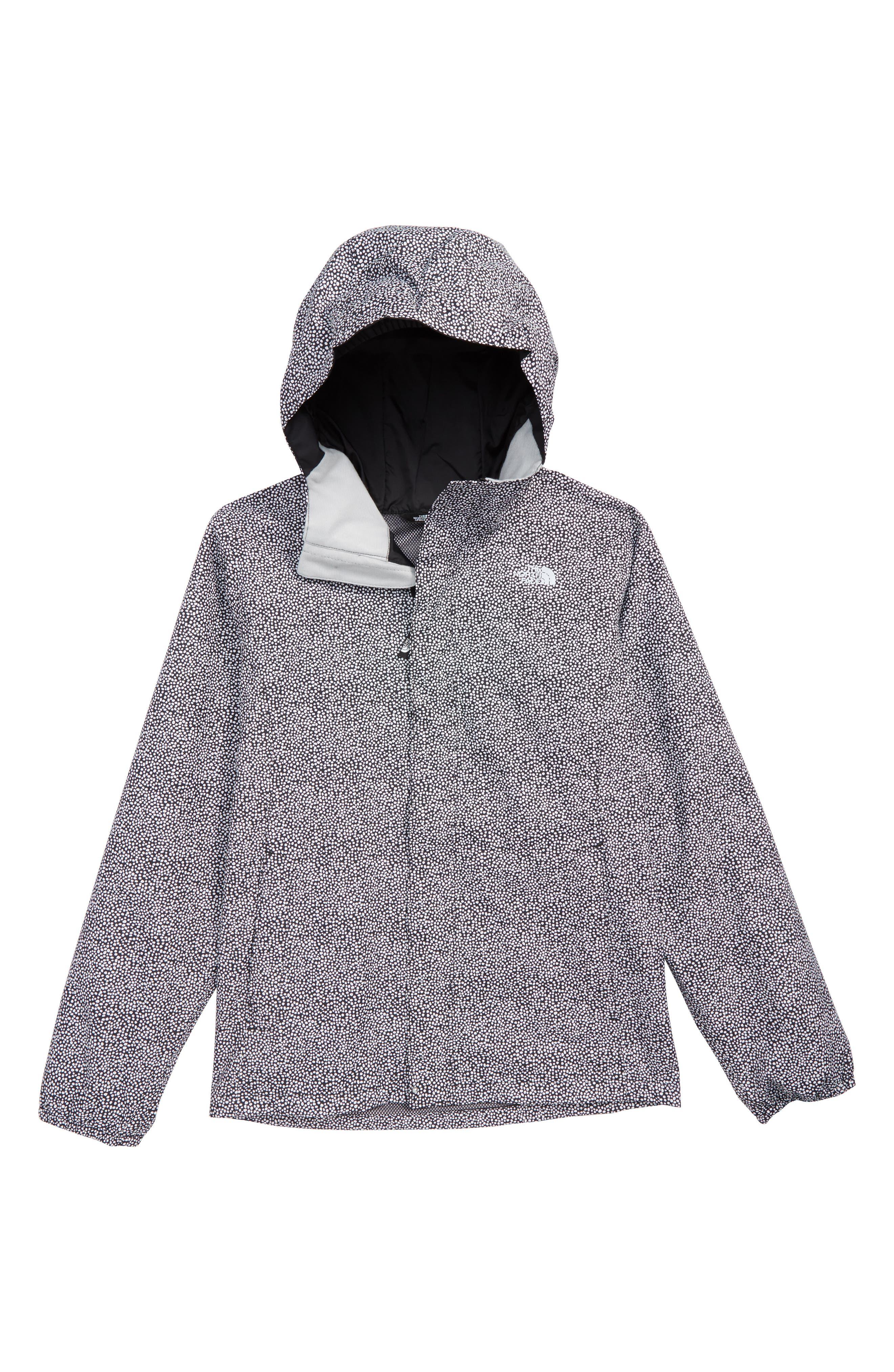 Resolve Reflective Waterproof Jacket,                             Main thumbnail 1, color,                             TNF WHITE MINI DOT PRINT