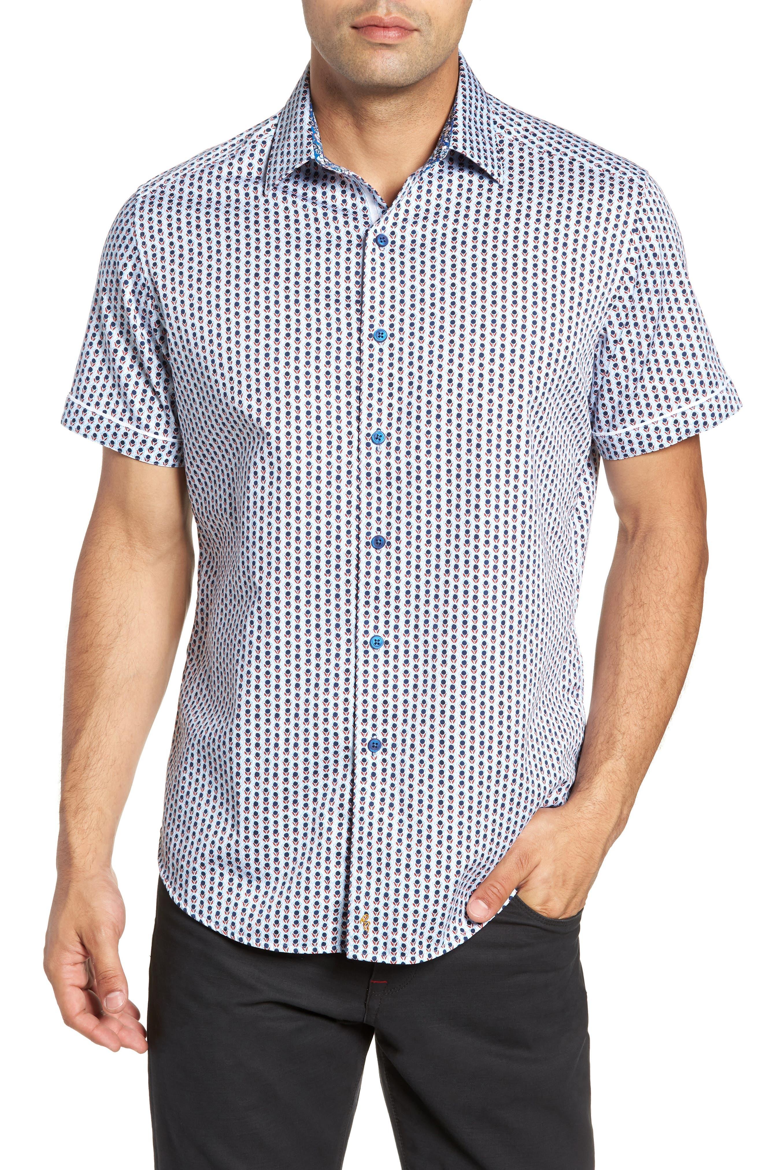 Westward Classic Fit Stripe Sport Shirt,                         Main,                         color, CREAM