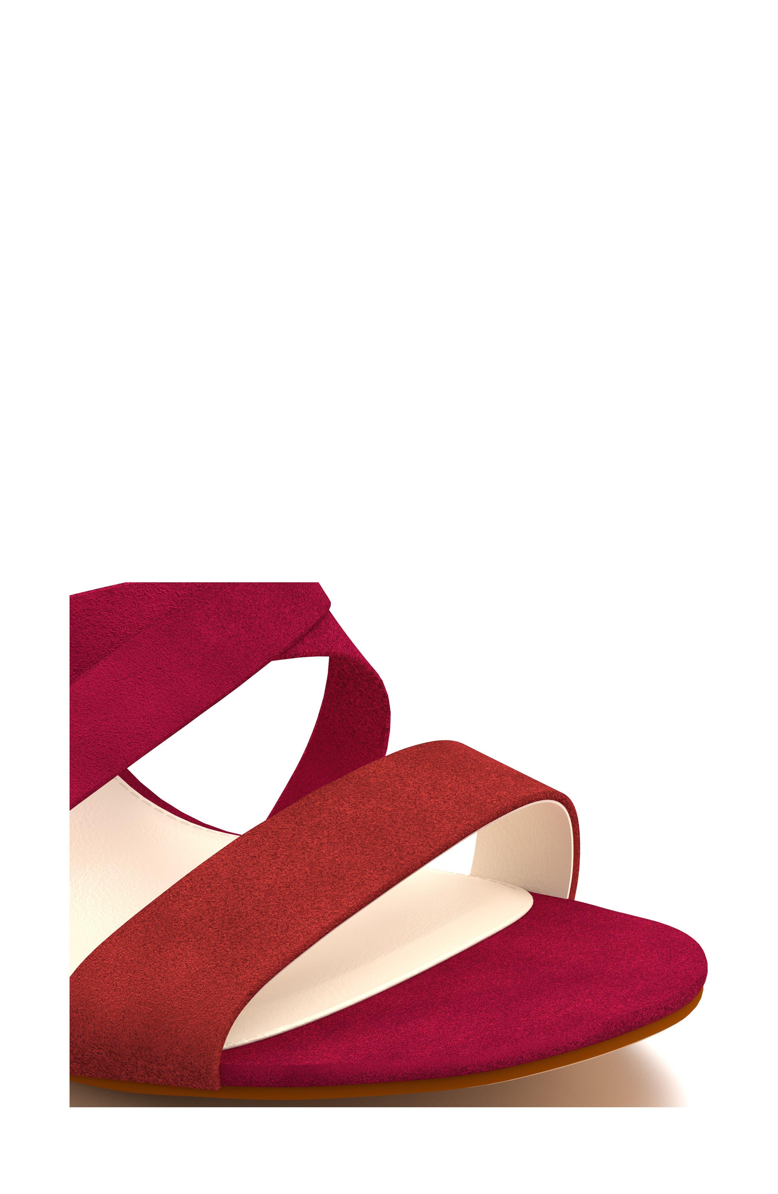 Cross Strap Sandal,                             Alternate thumbnail 18, color,