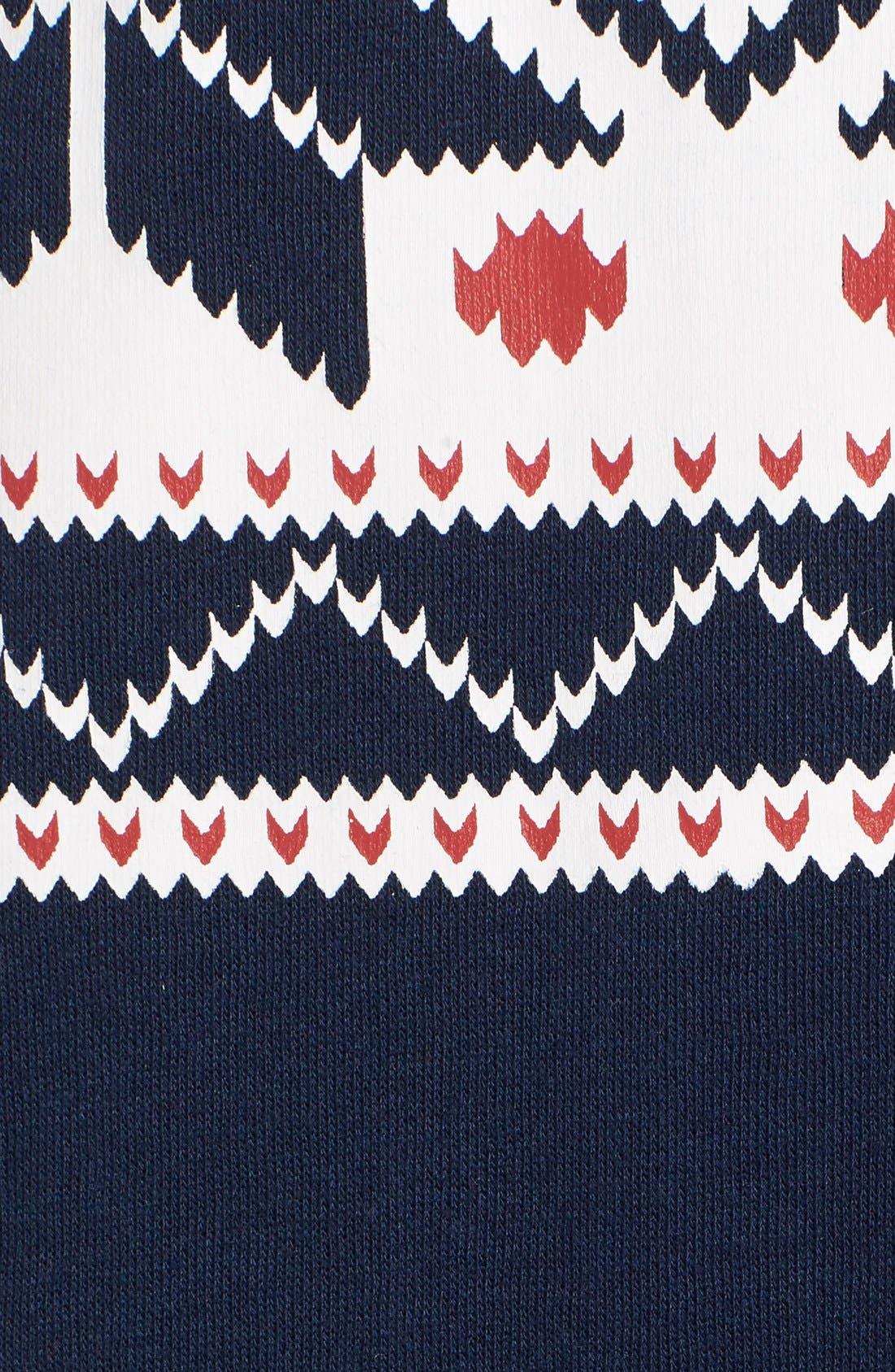Fleece One-Piece Pajamas,                             Alternate thumbnail 29, color,