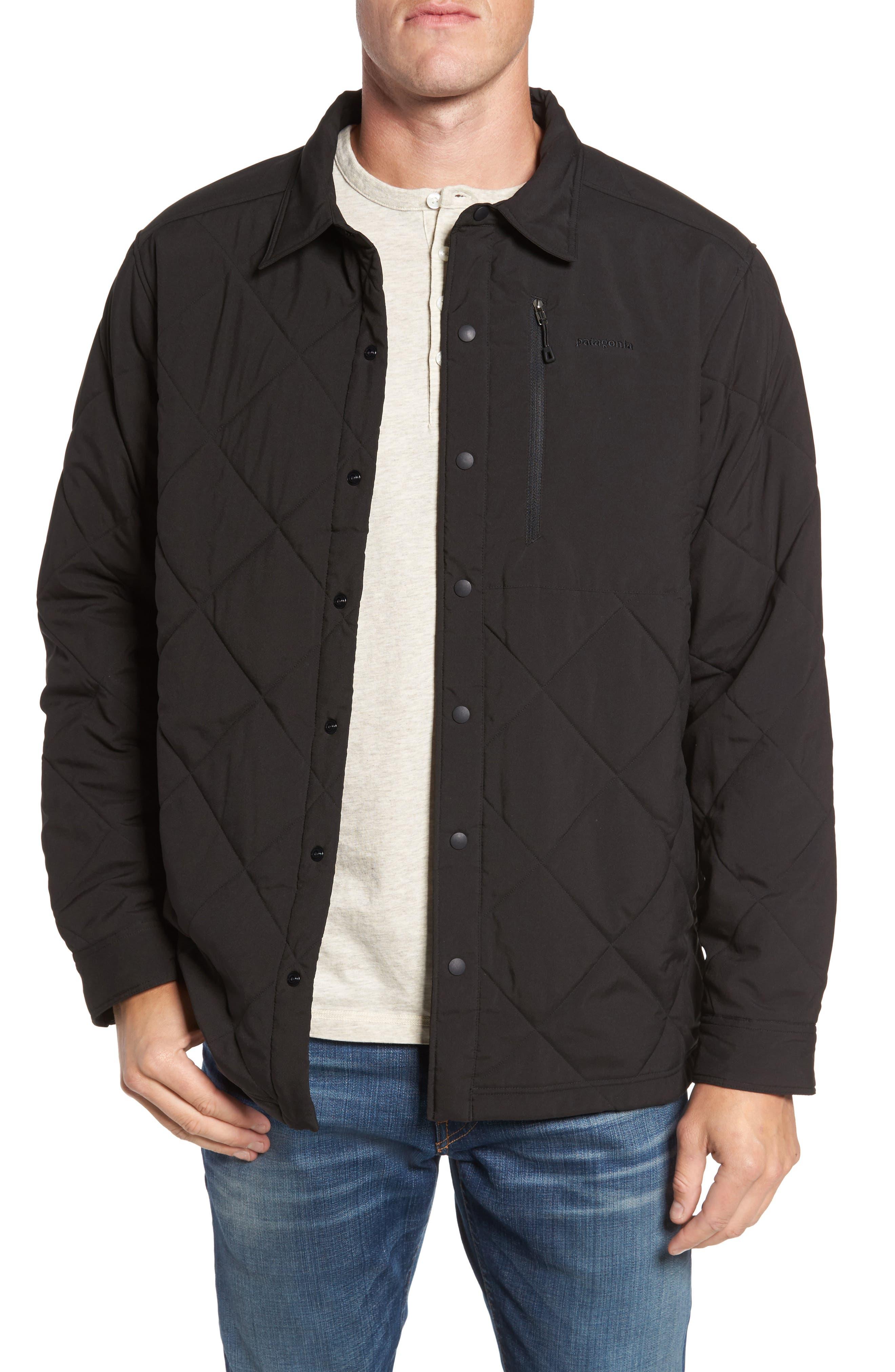 Tough Puff Shirt Jacket,                         Main,                         color, 001