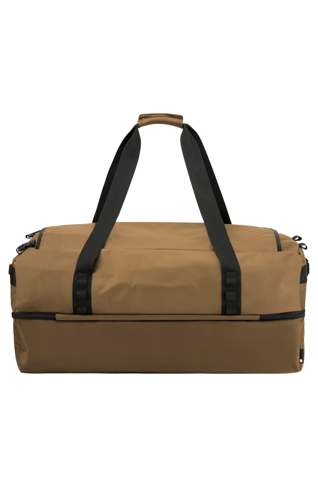 TRACTO Large Split Convertible Duffel Bag,                             Alternate thumbnail 9, color,