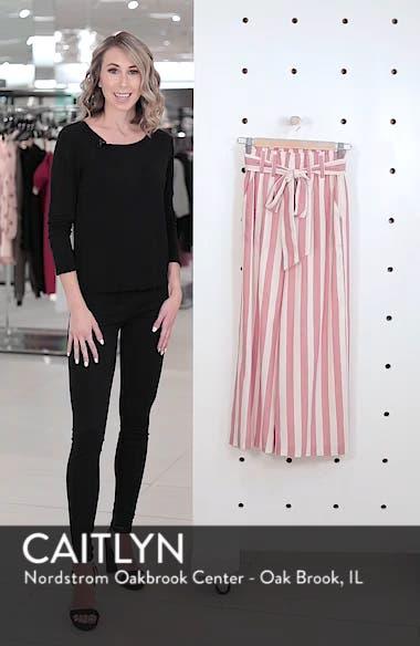 Stripe Paperbag Waist Pants, sales video thumbnail