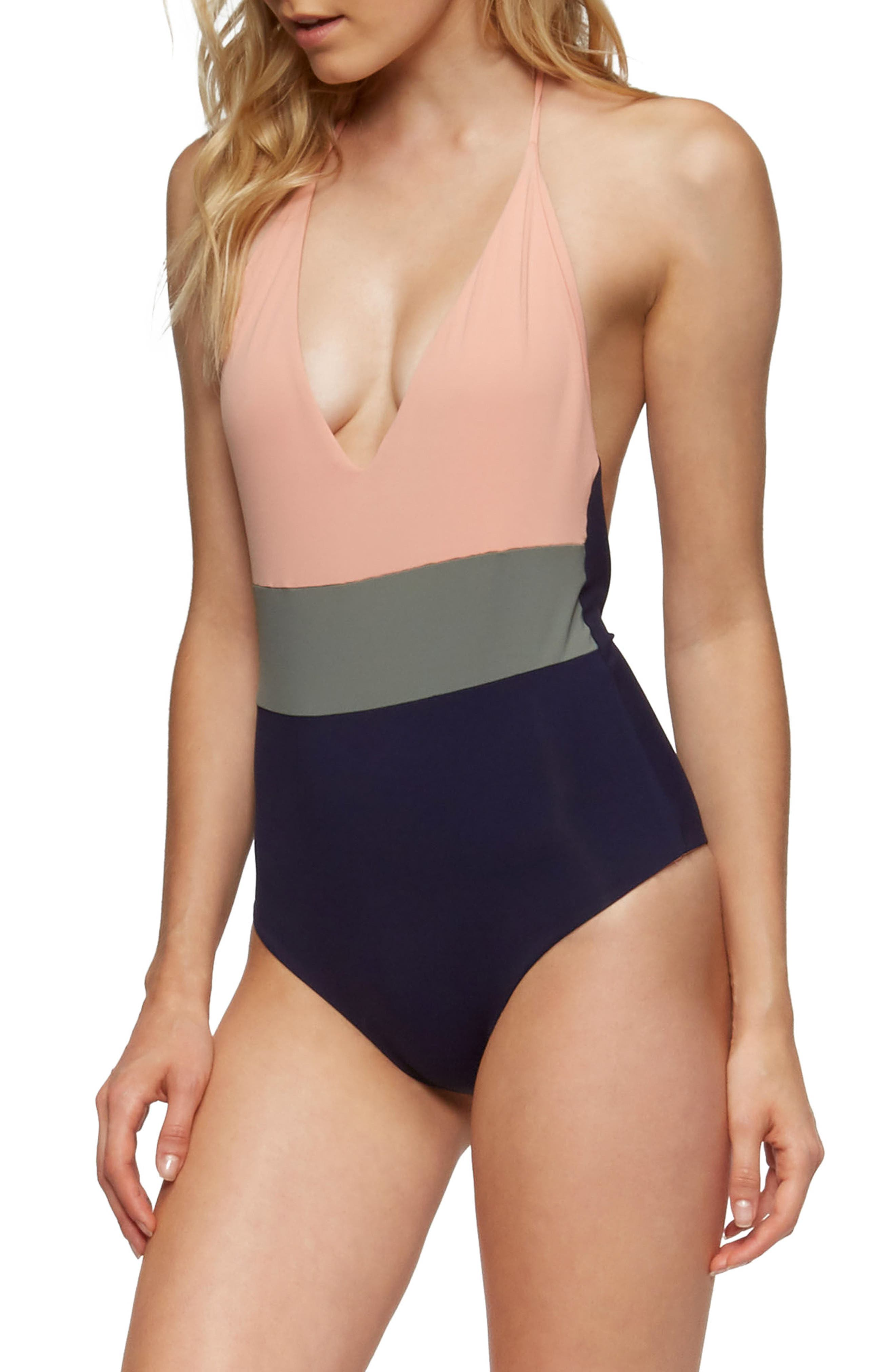 Chase One-Piece Swimsuit,                             Alternate thumbnail 17, color,