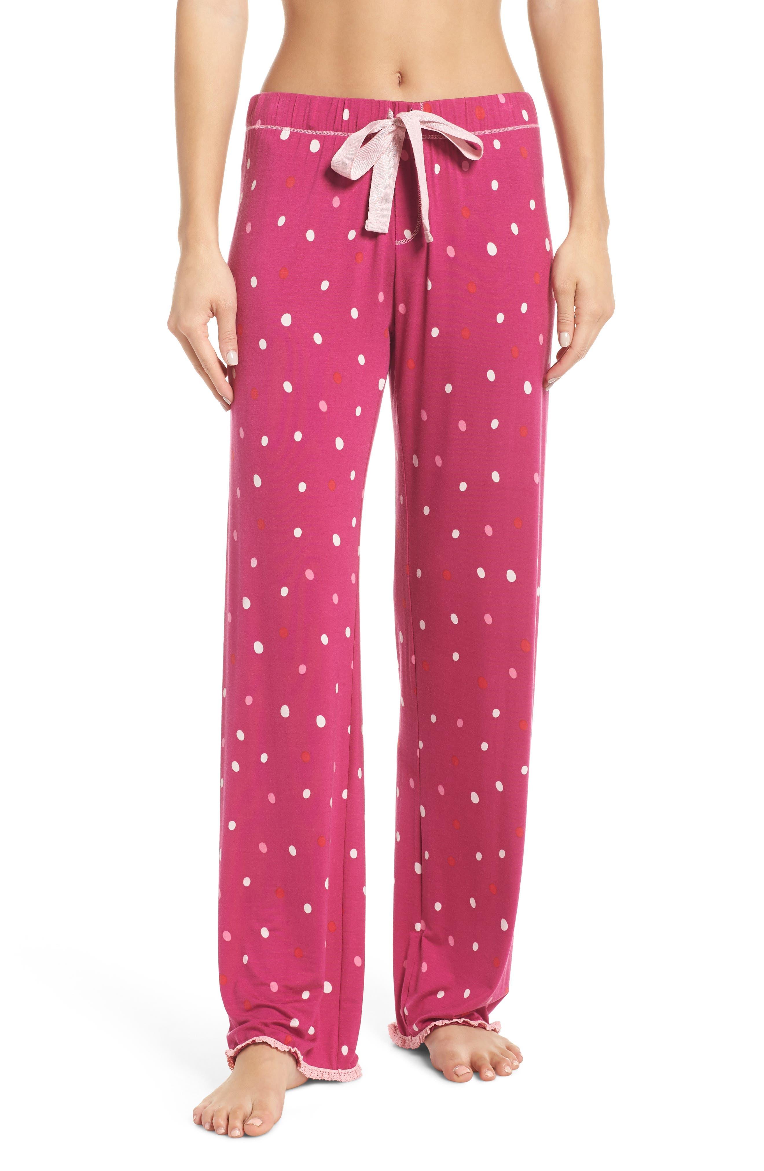 Hatley Cozy Pajama Pants, Pink