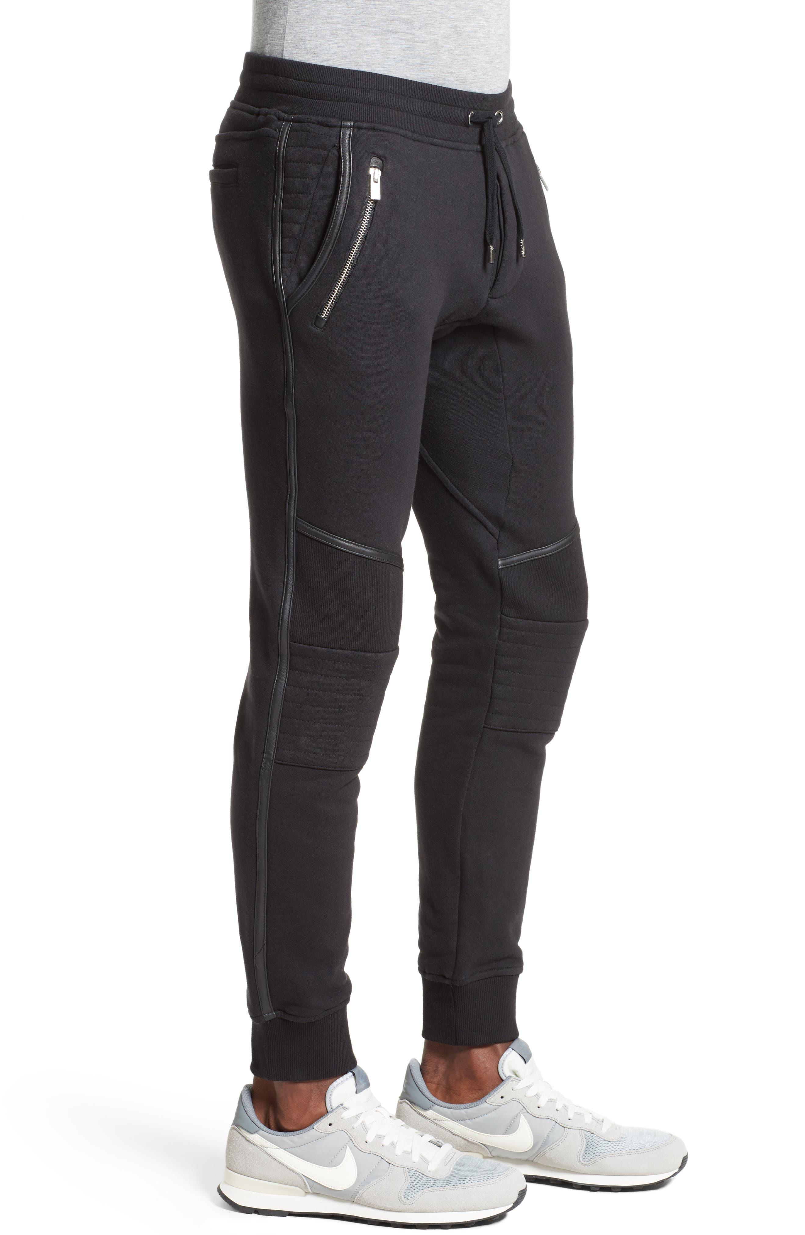 Moto Jogger Pants,                             Alternate thumbnail 3, color,