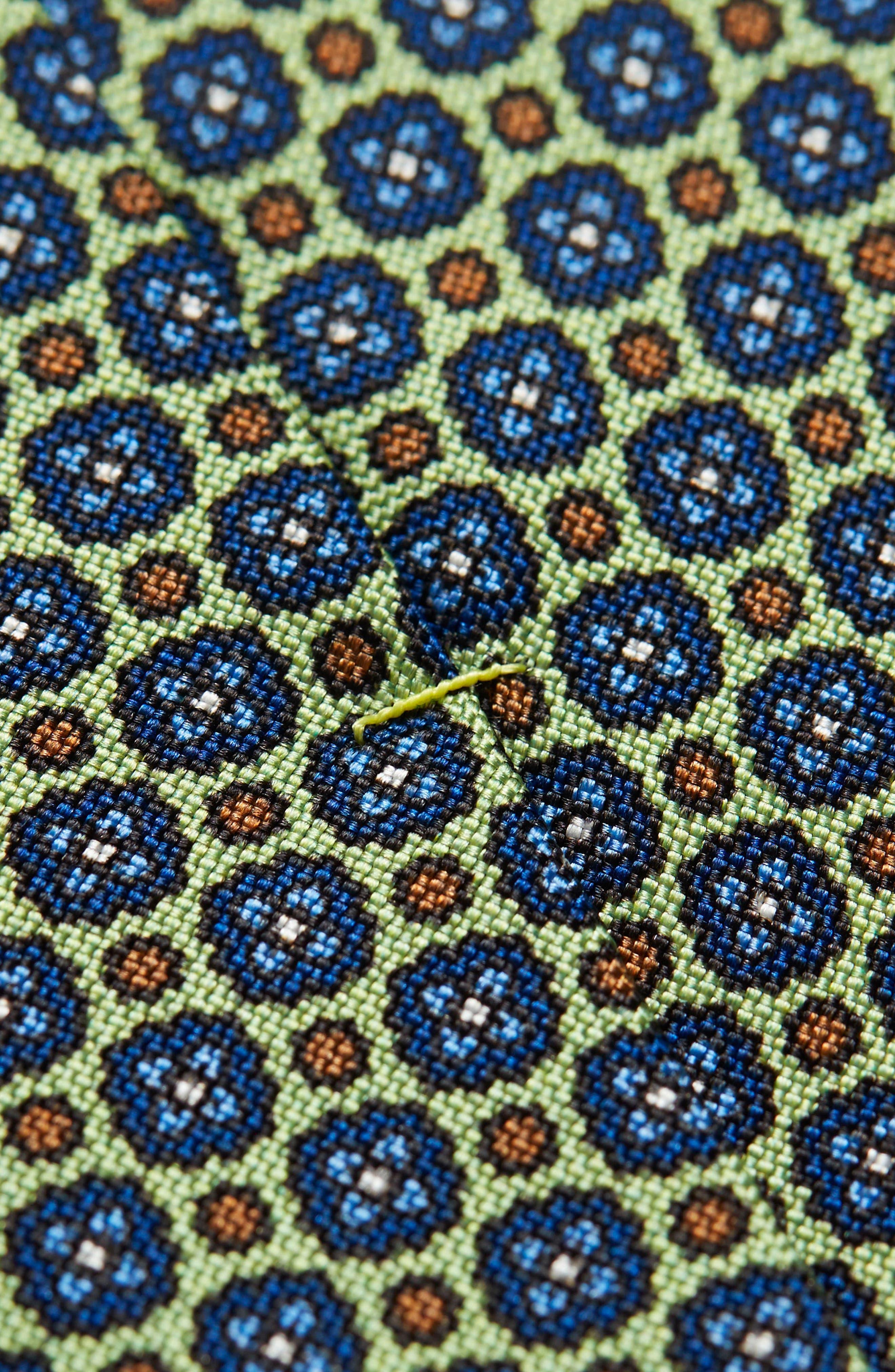 Medallion Silk Tie,                             Alternate thumbnail 2, color,                             300