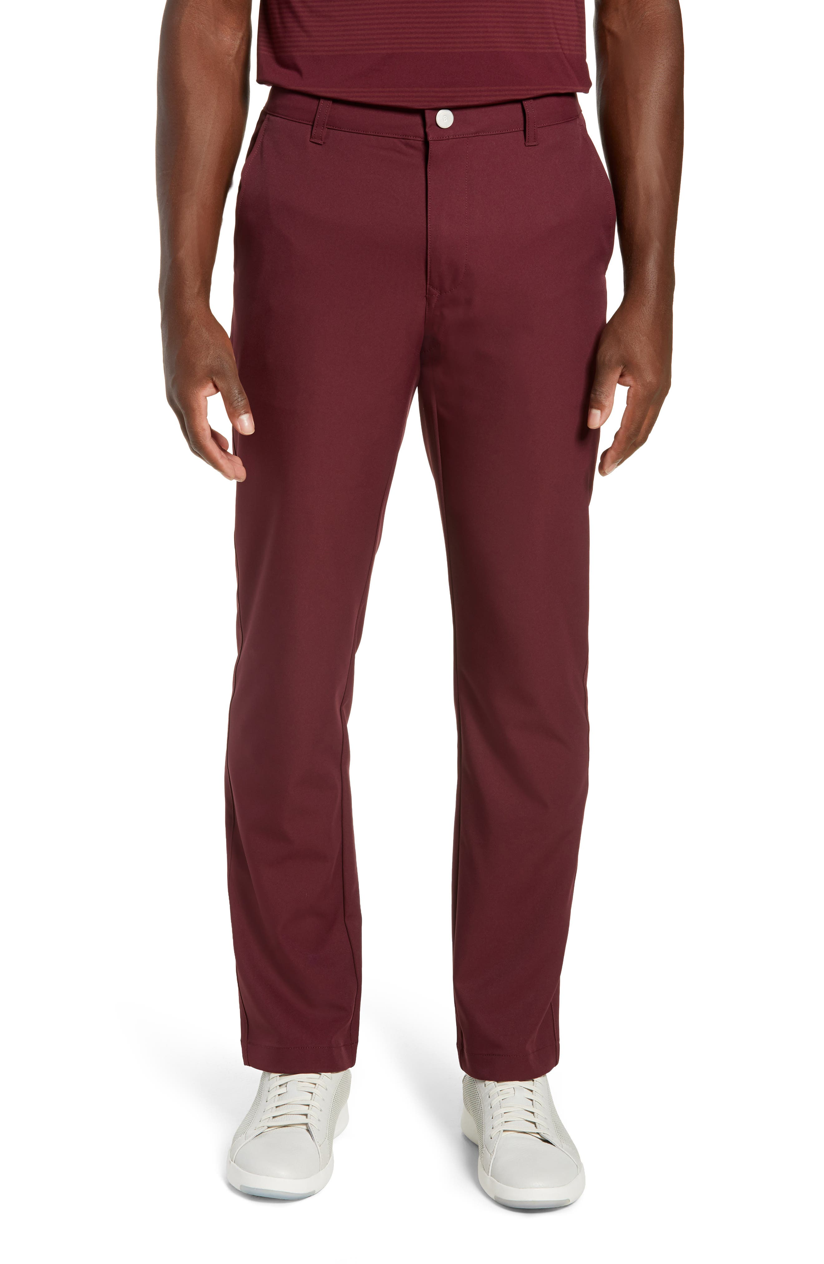 Highland Slim Fit Golf Pants,                         Main,                         color, 600