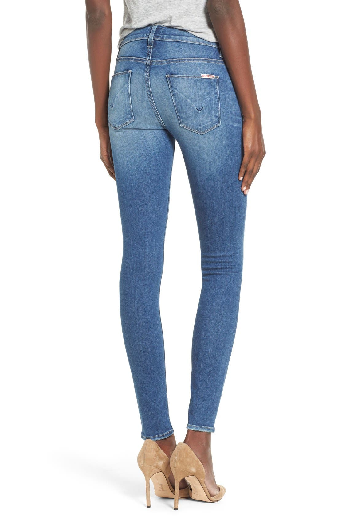'Nico' Super Skinny Jeans,                             Alternate thumbnail 9, color,