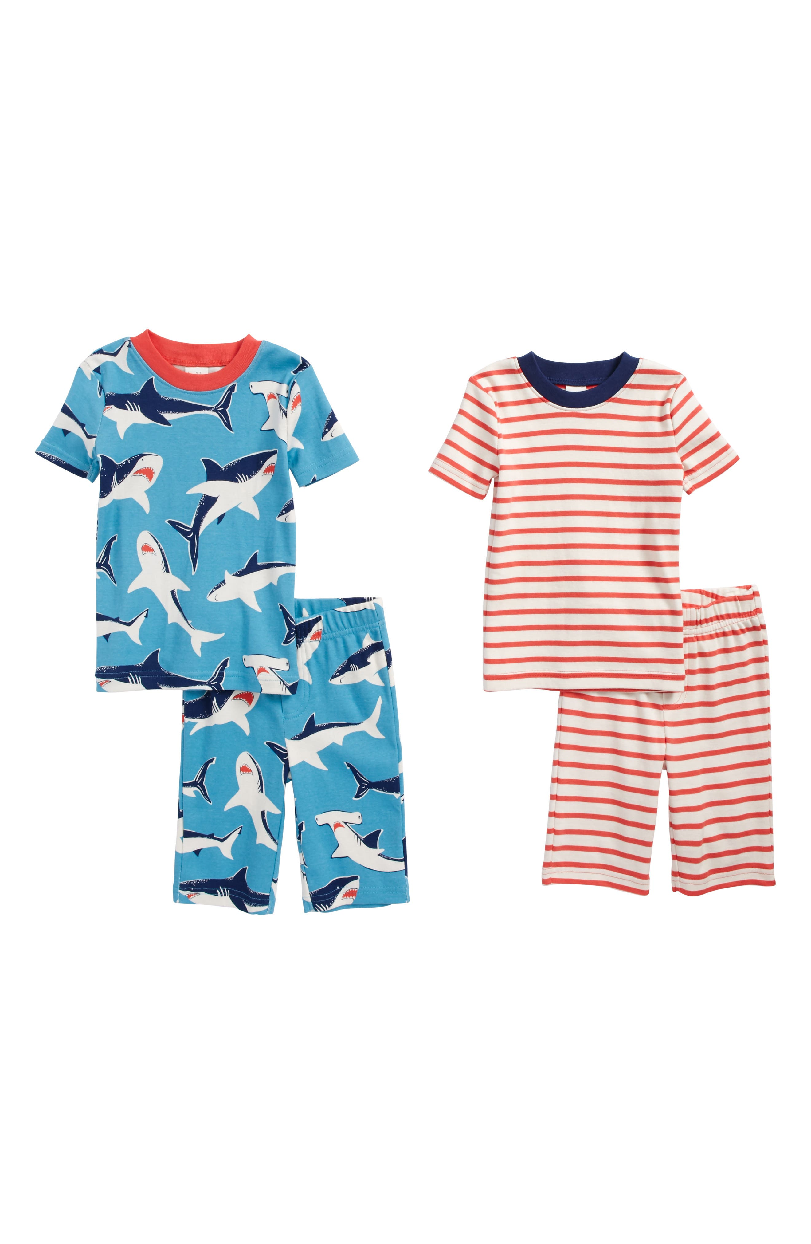Short John 2-Pack Fitted Two-Piece Pajamas,                             Main thumbnail 2, color,