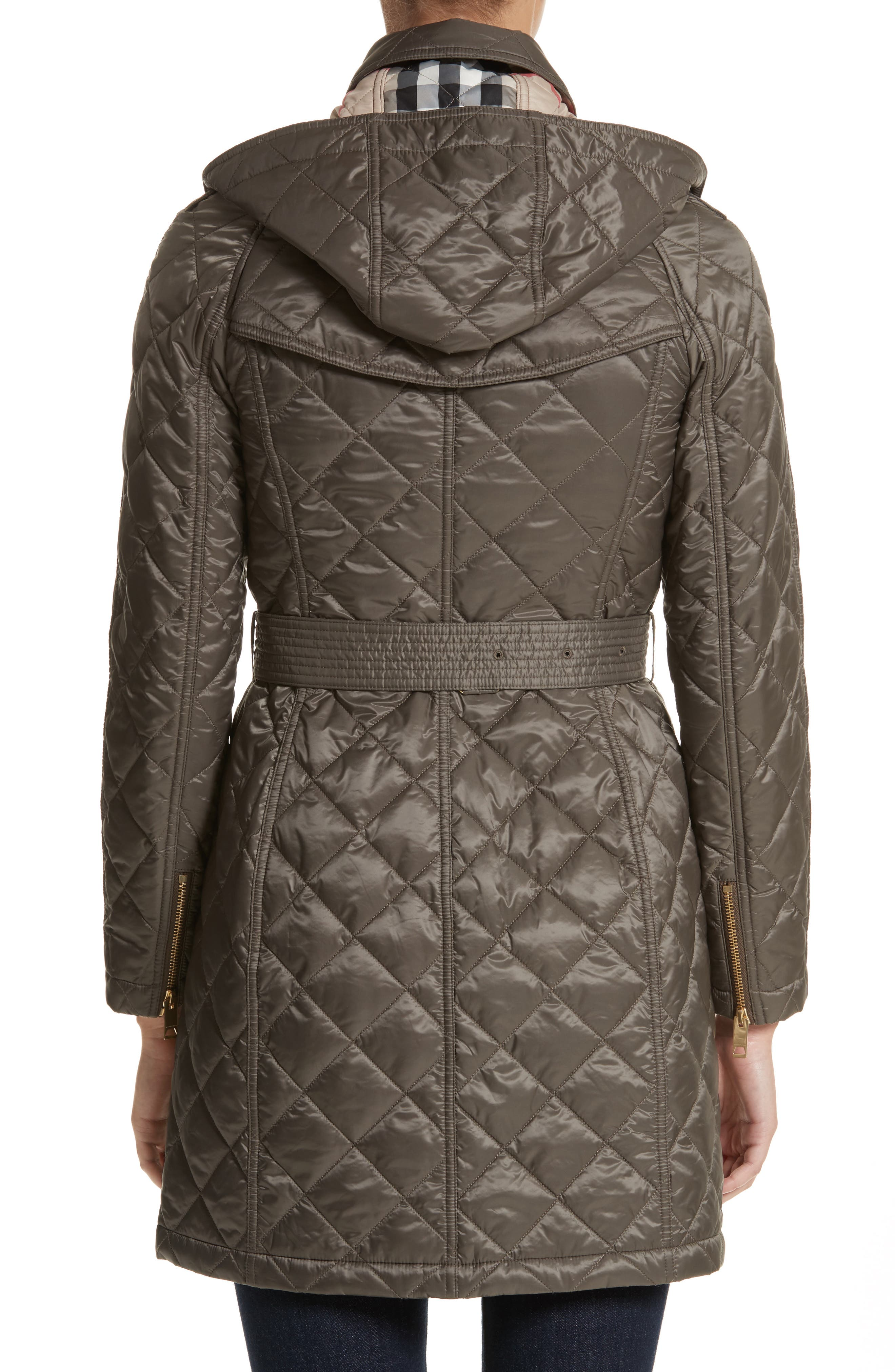 Baughton Quilted Coat,                             Alternate thumbnail 2, color,                             MINK GREY