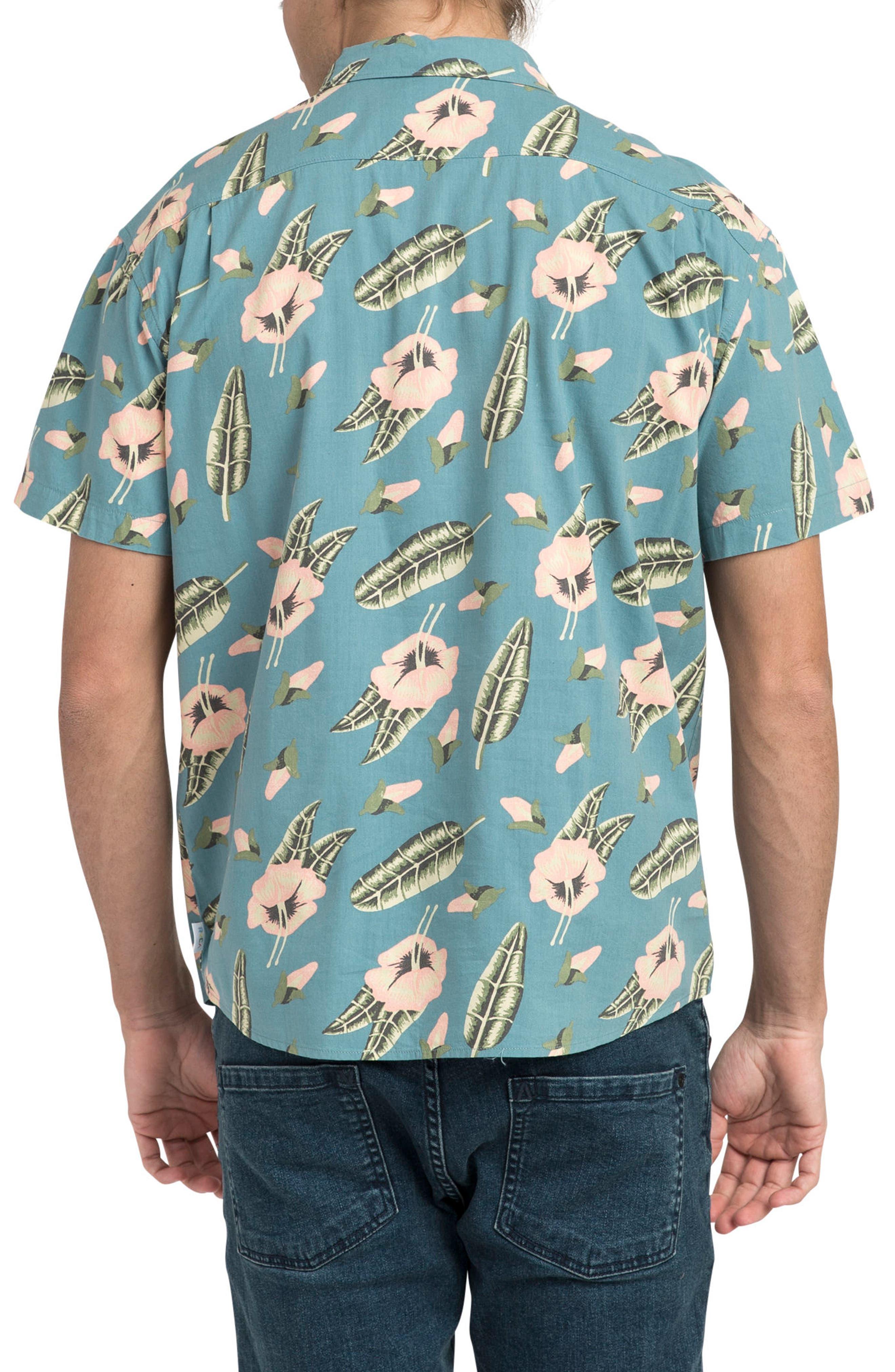 Pelletier Tropic Short Sleeve Shirt,                             Alternate thumbnail 3, color,