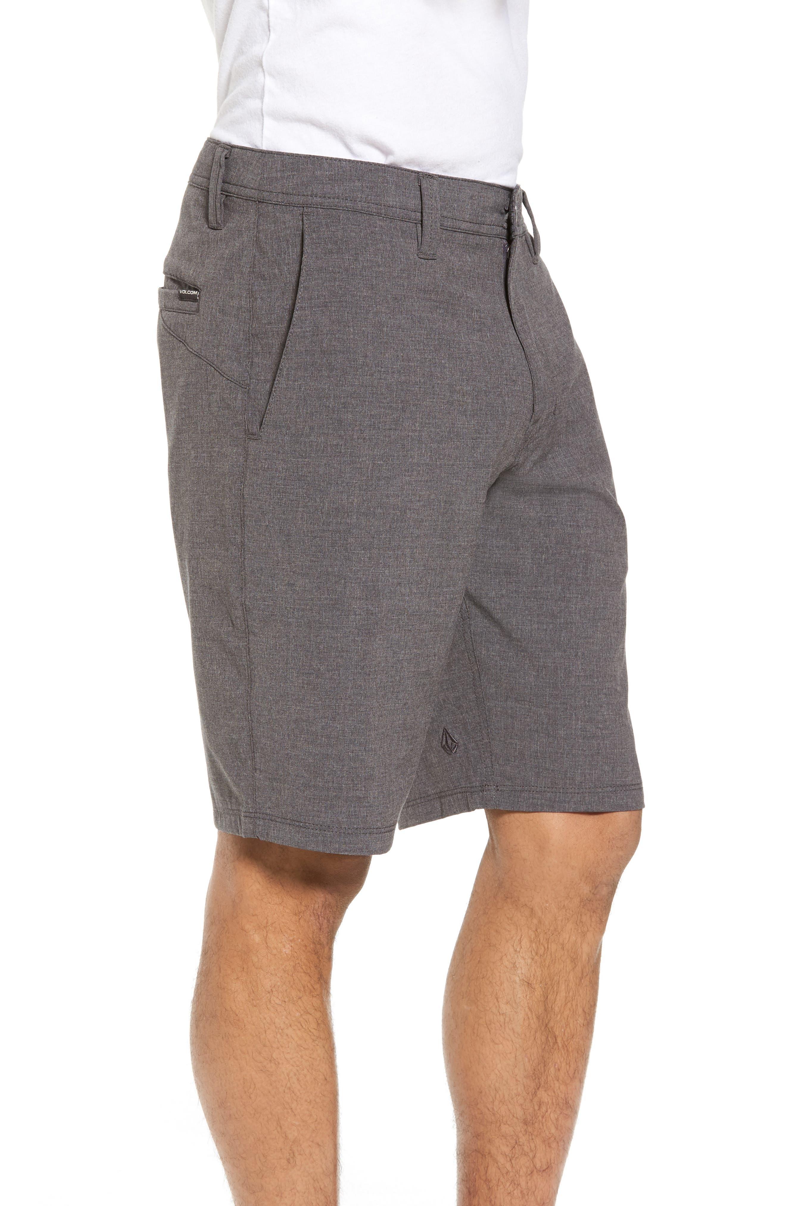 Hybrid Shorts,                             Alternate thumbnail 3, color,                             CHARCOAL