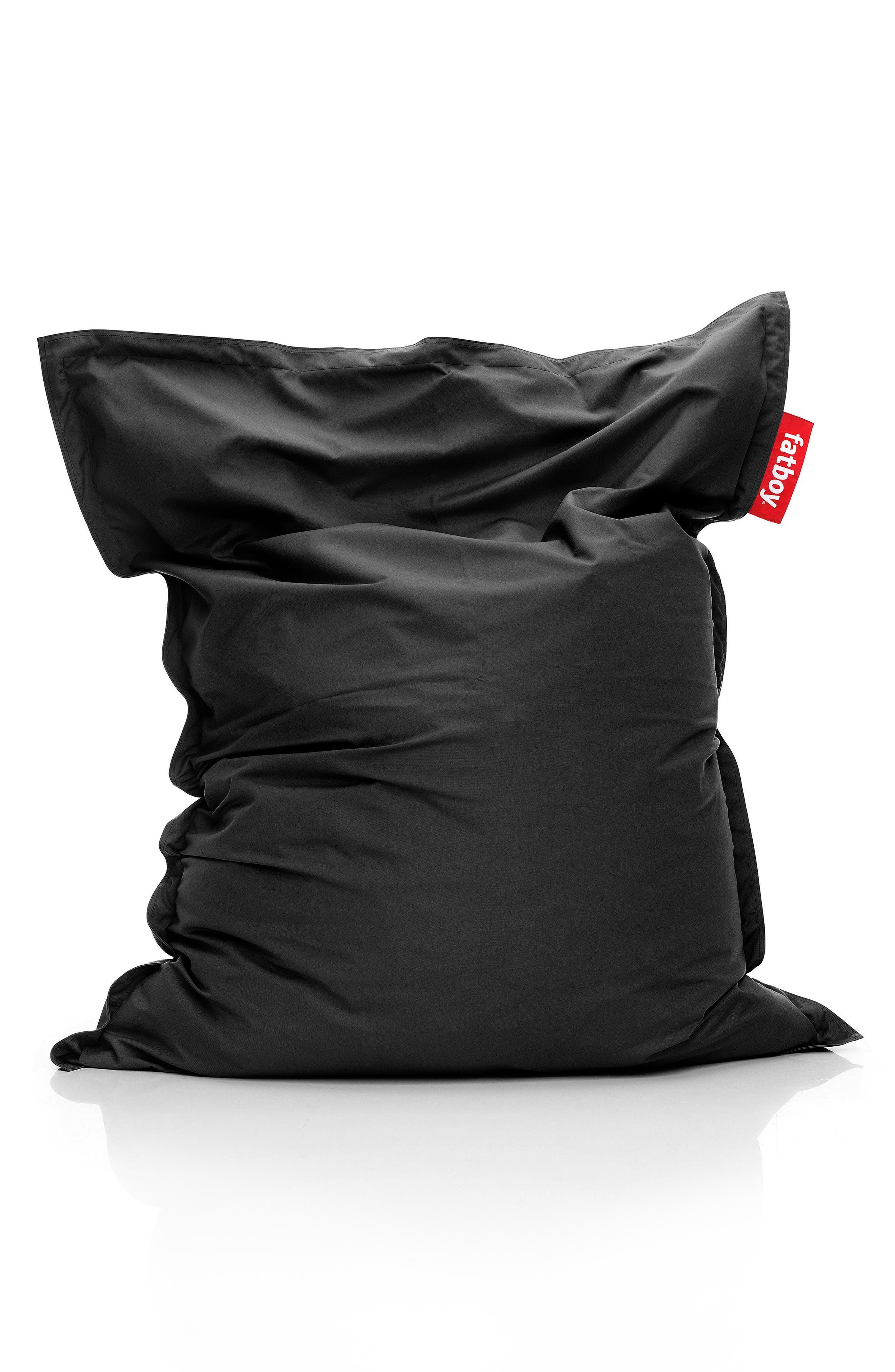Original Outdoor Beanbag Chair,                         Main,                         color, BLACK