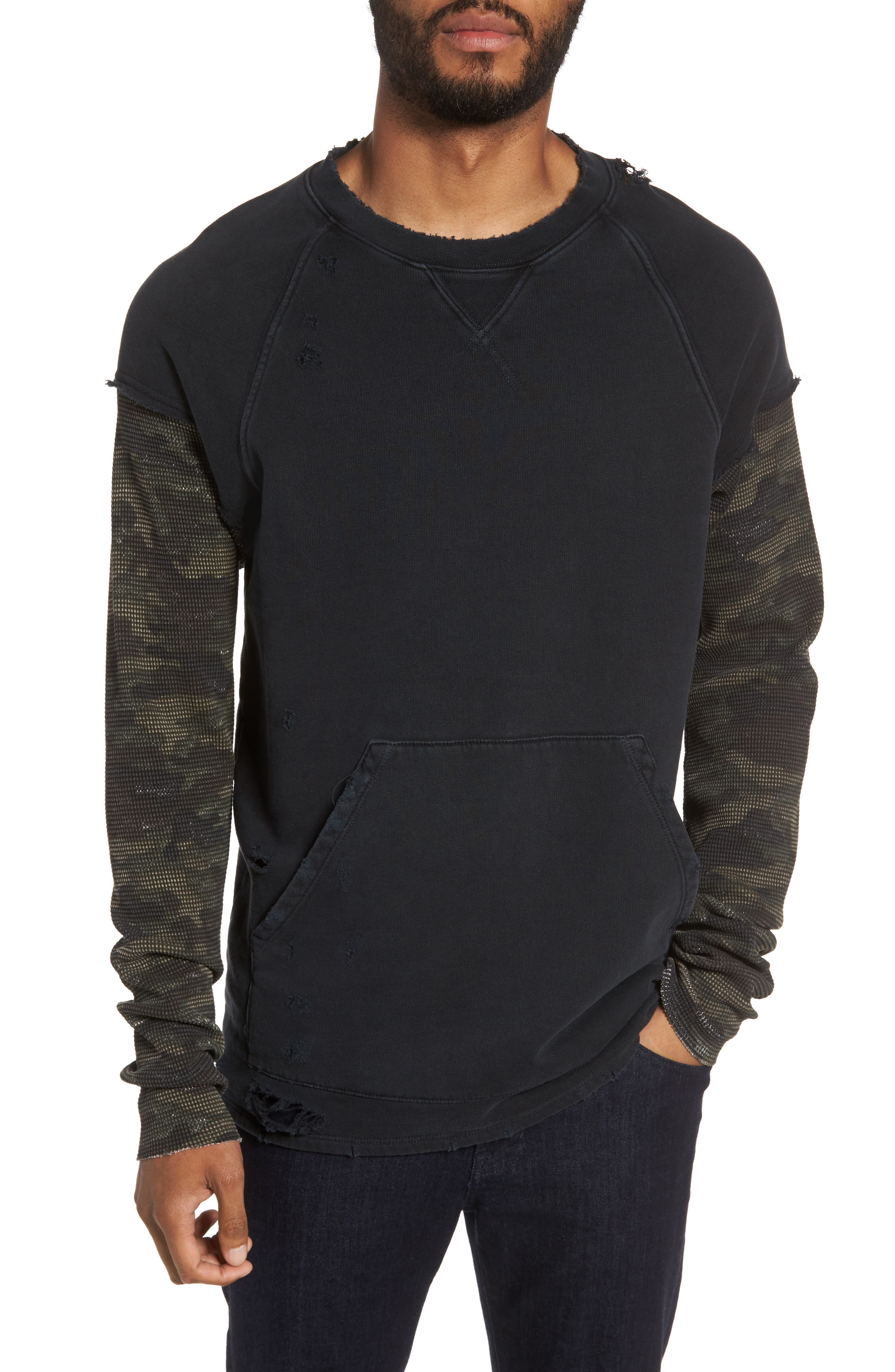 Striker Slim Fit Crewneck Sweatshirt,                         Main,                         color,