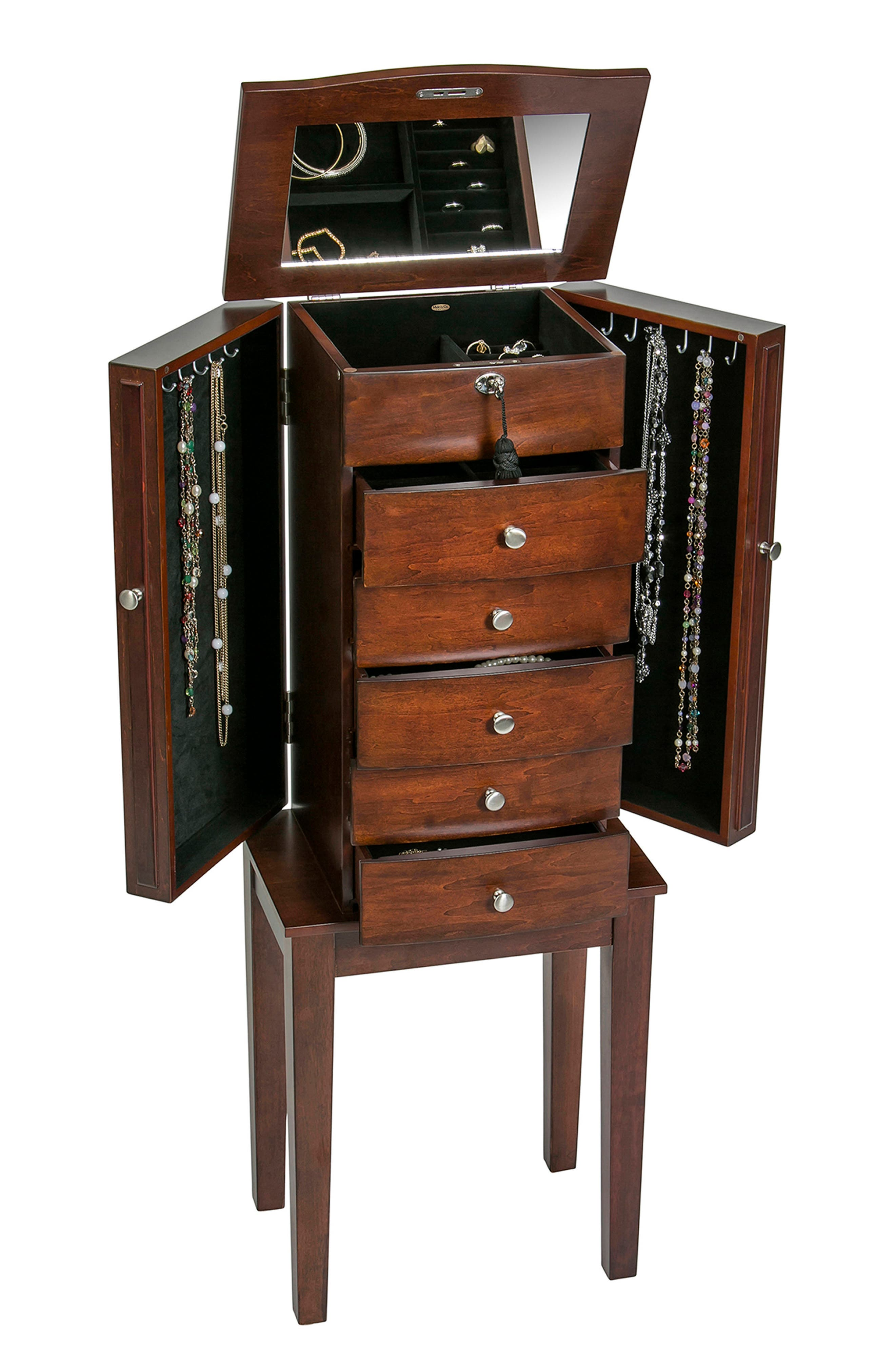 Westfield Jewelry Armoire,                             Alternate thumbnail 2, color,                             200