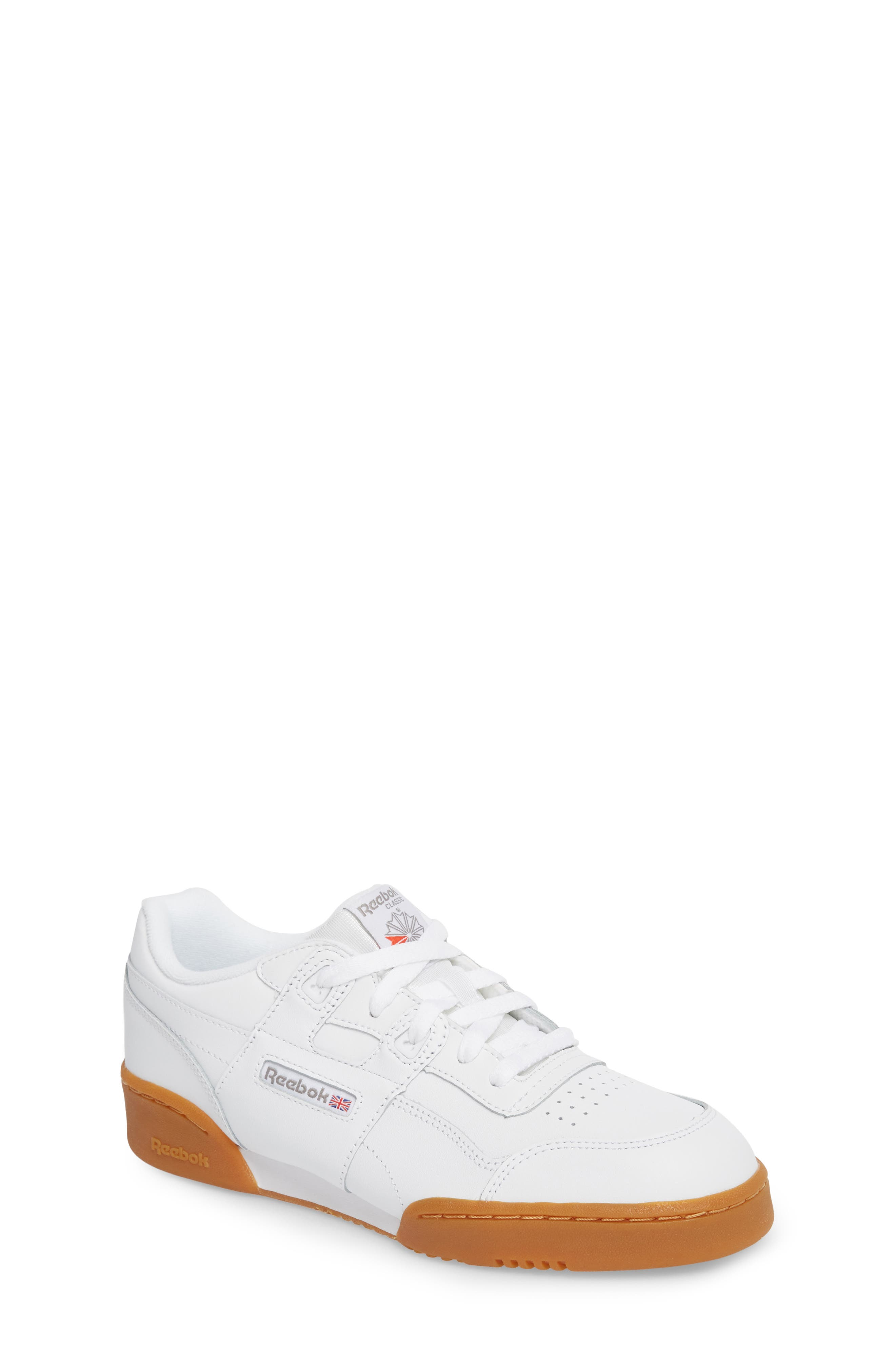 Workout Plus Sneaker,                             Main thumbnail 1, color,                             WHITE