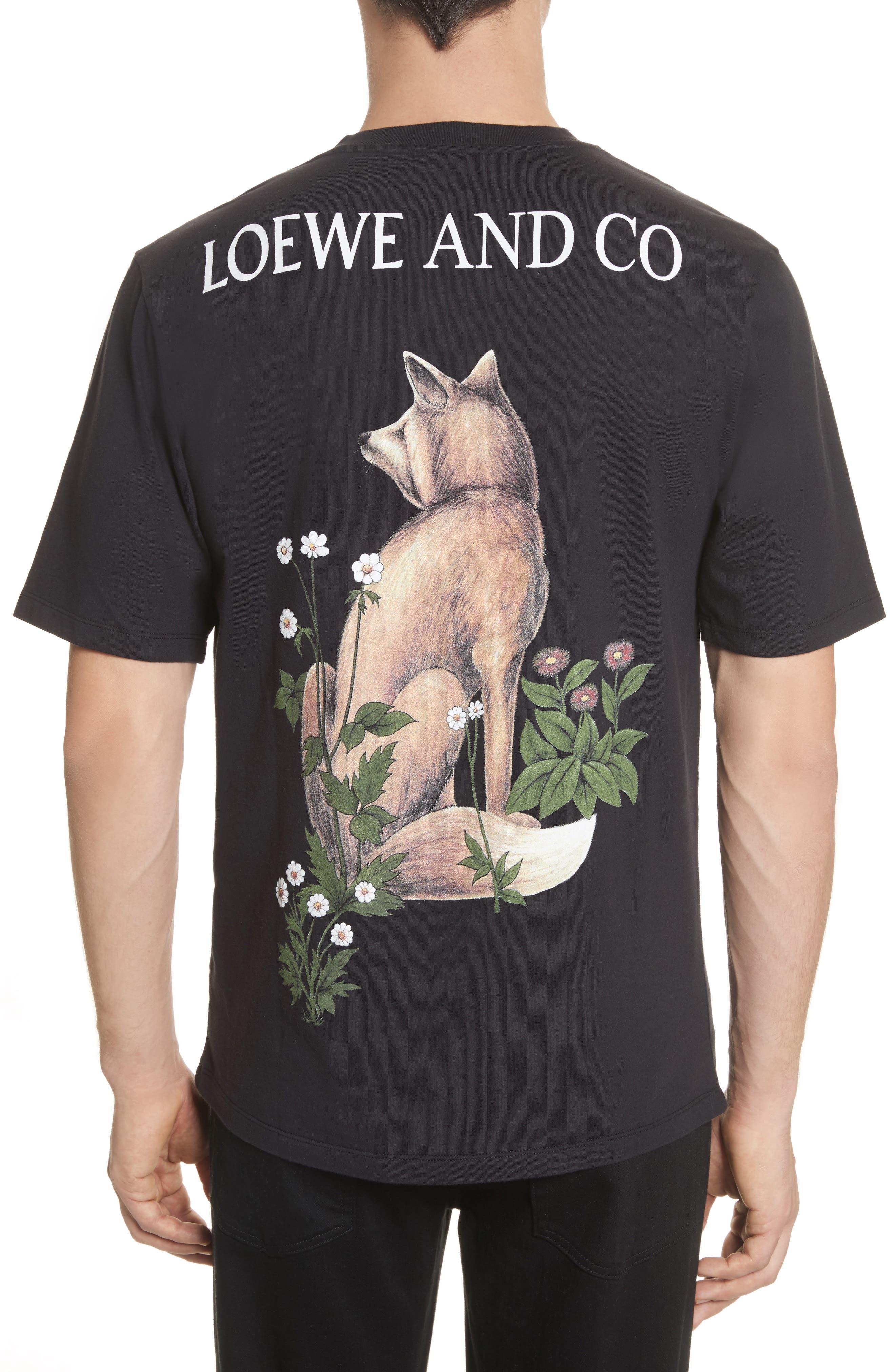 Loewe & Co. Graphic T-Shirt,                             Alternate thumbnail 2, color,                             001
