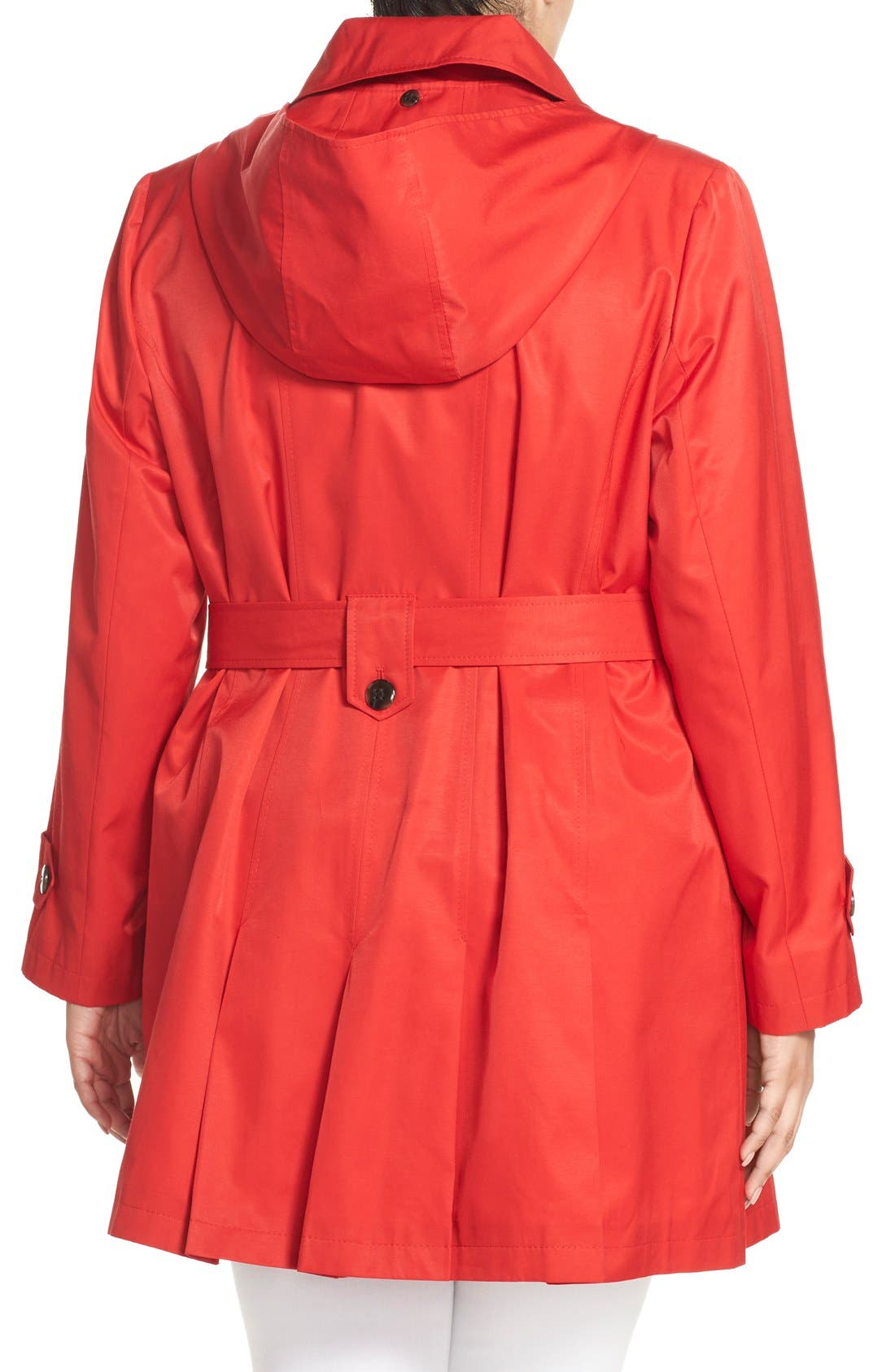 'Scarpa' Single Breasted Trench Coat,                             Alternate thumbnail 17, color,