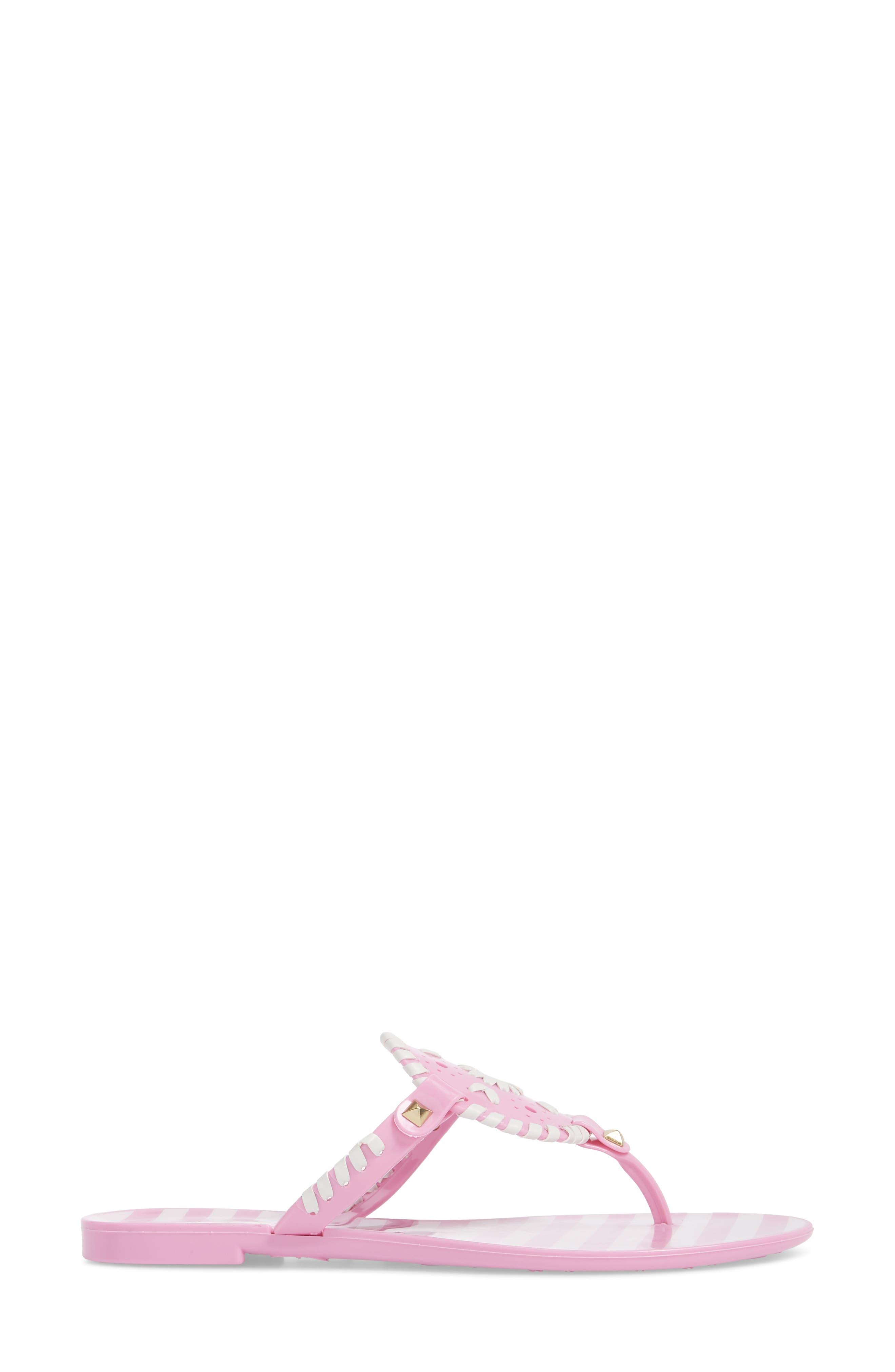 'Georgica' Jelly Flip Flop,                             Alternate thumbnail 91, color,