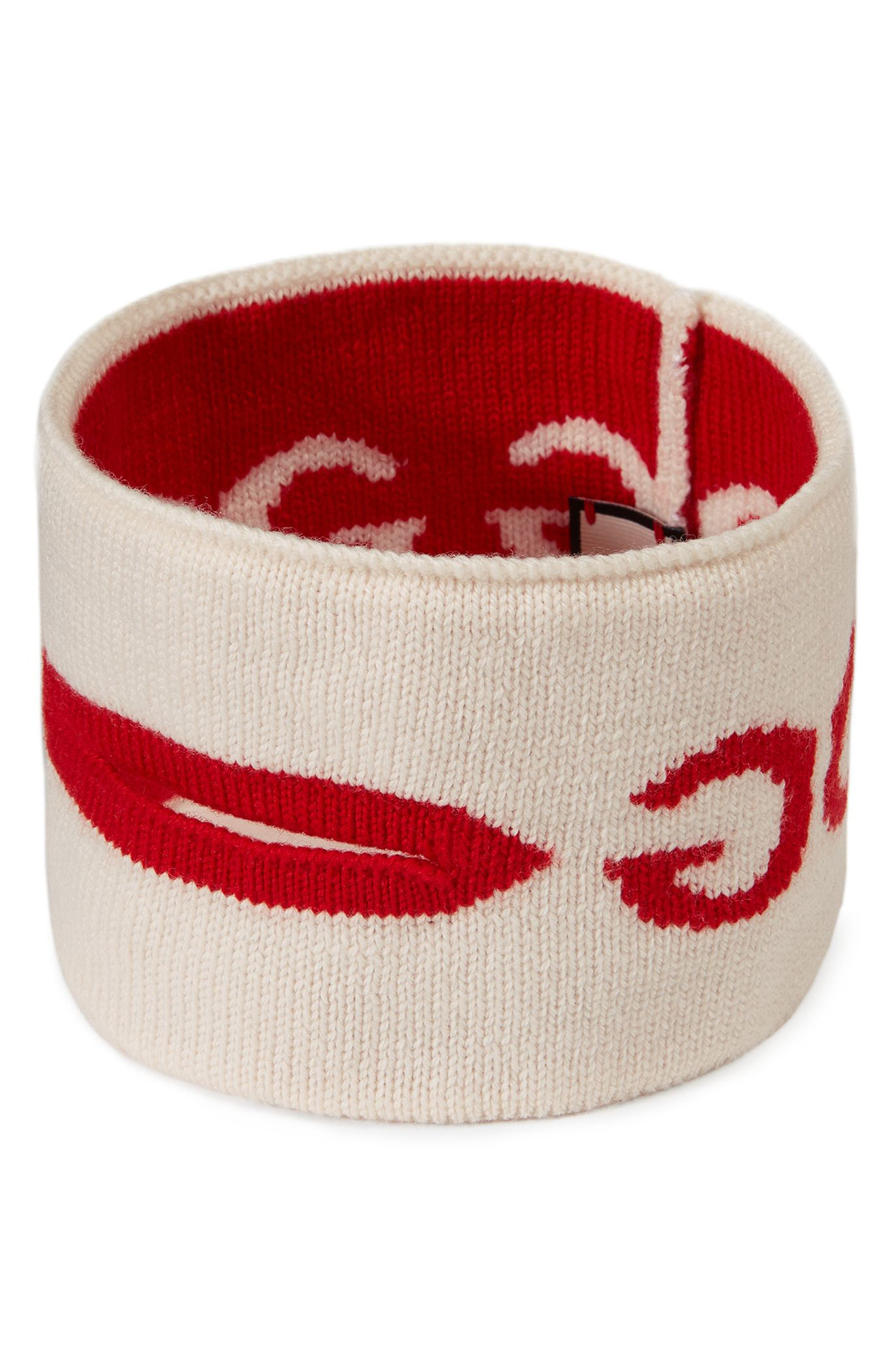 GG Mouth Wool Mask,                             Main thumbnail 1, color,                             100