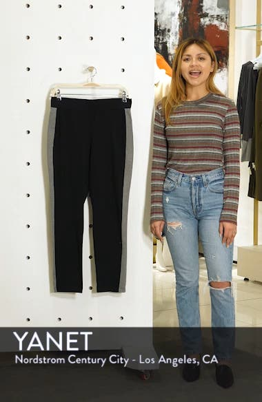 Side Stripe Slim Pants, sales video thumbnail