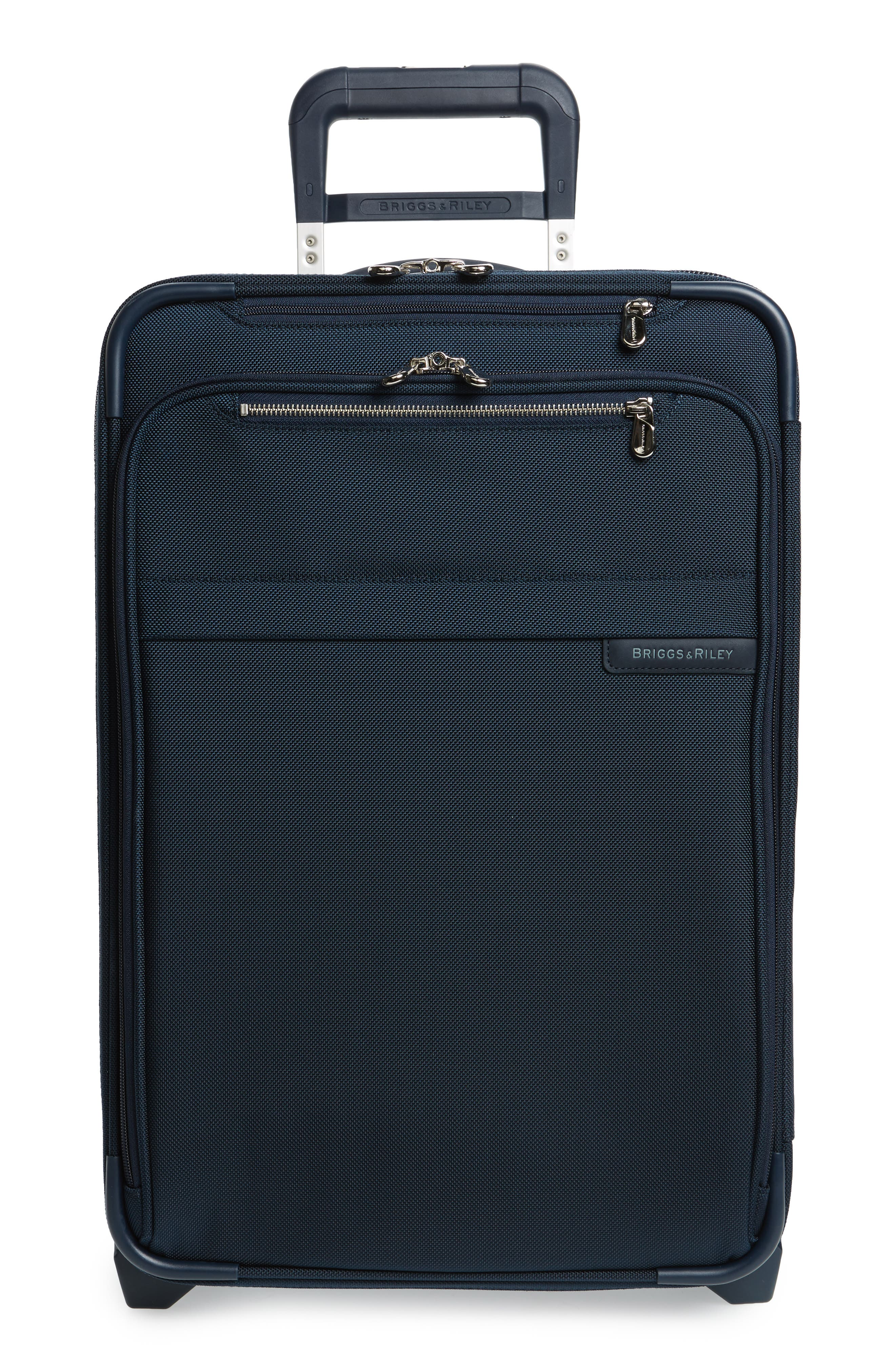 Baseline 22-Inch Wheeled Domestic Carry-On,                             Main thumbnail 1, color,                             NAVY